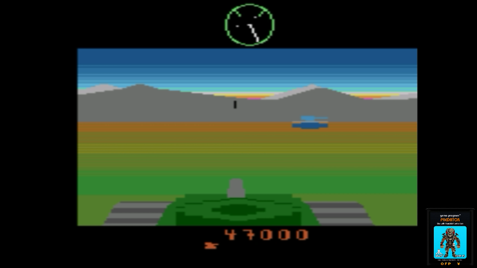omargeddon: Battlezone (Atari 2600 Emulated) 47,000 points on 2017-06-26 00:26:46