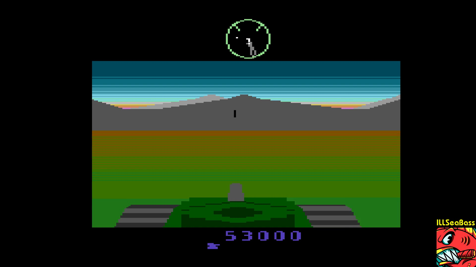 ILLSeaBass: Battlezone (Atari 2600 Emulated) 53,000 points on 2018-01-22 19:08:20