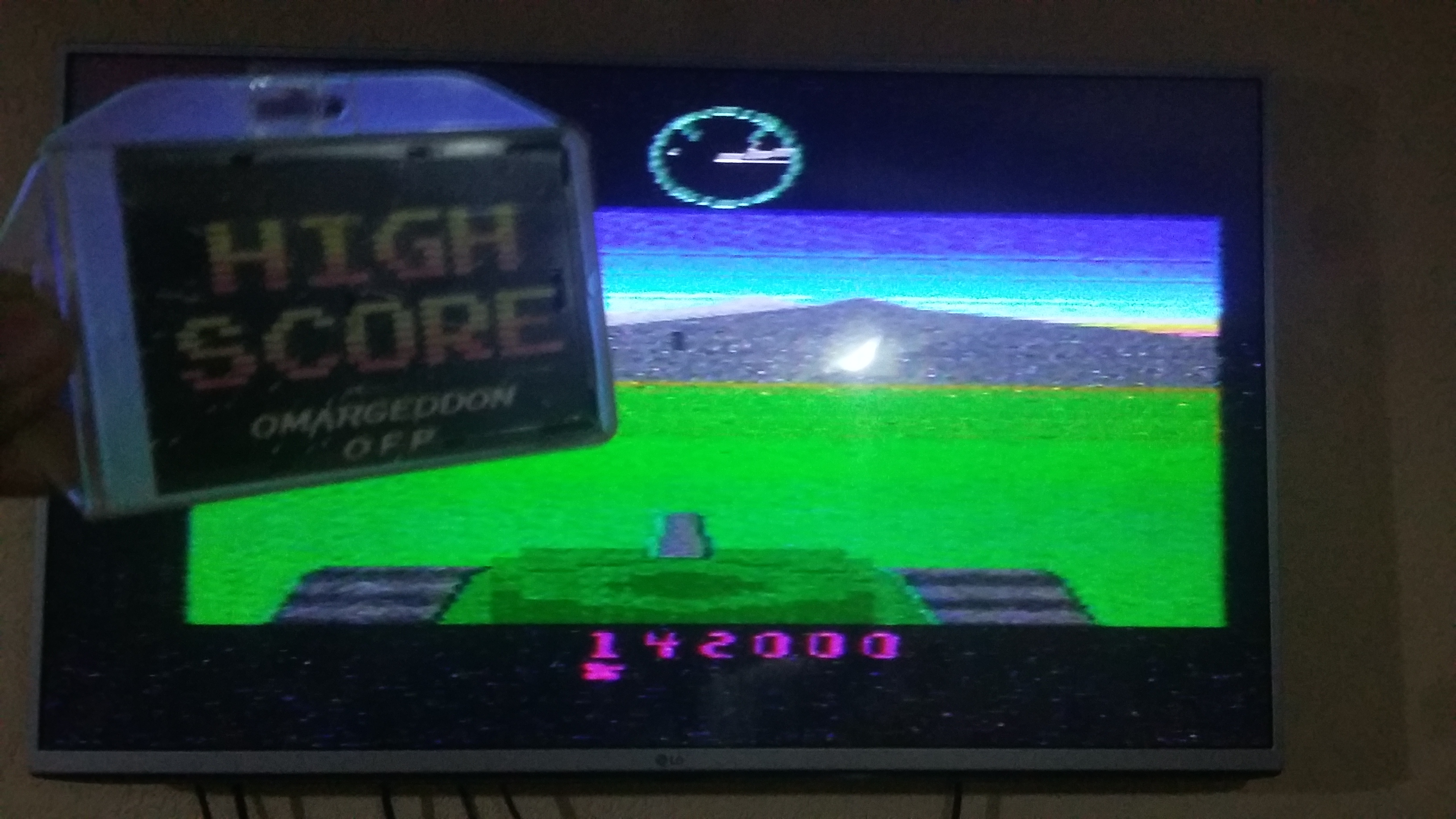 omargeddon: Battlezone (Atari 2600) 142,000 points on 2018-10-12 18:30:00