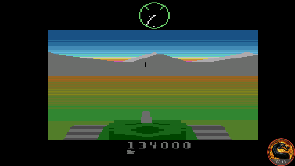 omargeddon: Battlezone (Atari 2600 Emulated) 134,000 points on 2018-11-03 07:58:00