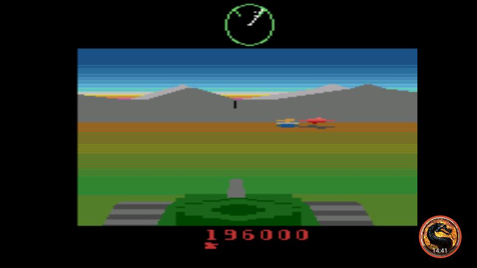 omargeddon: Battlezone (Atari 2600 Emulated) 196,000 points on 2019-01-22 00:05:45