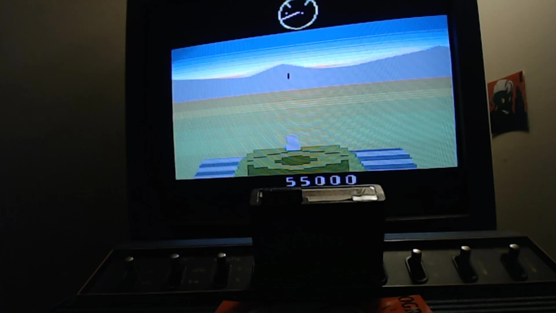 AwesomeOgre: Battlezone (Atari 2600) 55,000 points on 2020-05-18 11:08:16