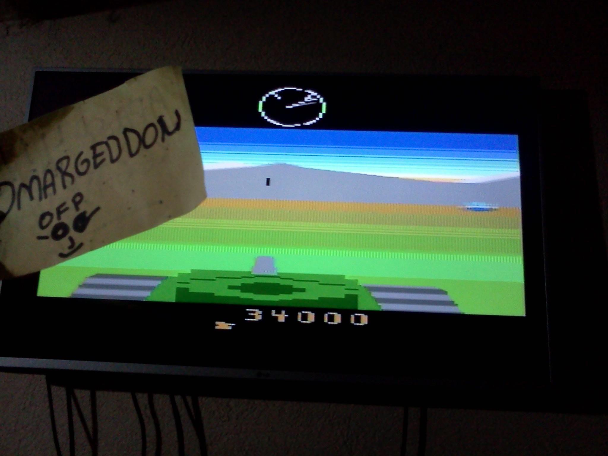 omargeddon: Battlezone (Atari Flashback 3) 34,000 points on 2016-09-27 21:13:30