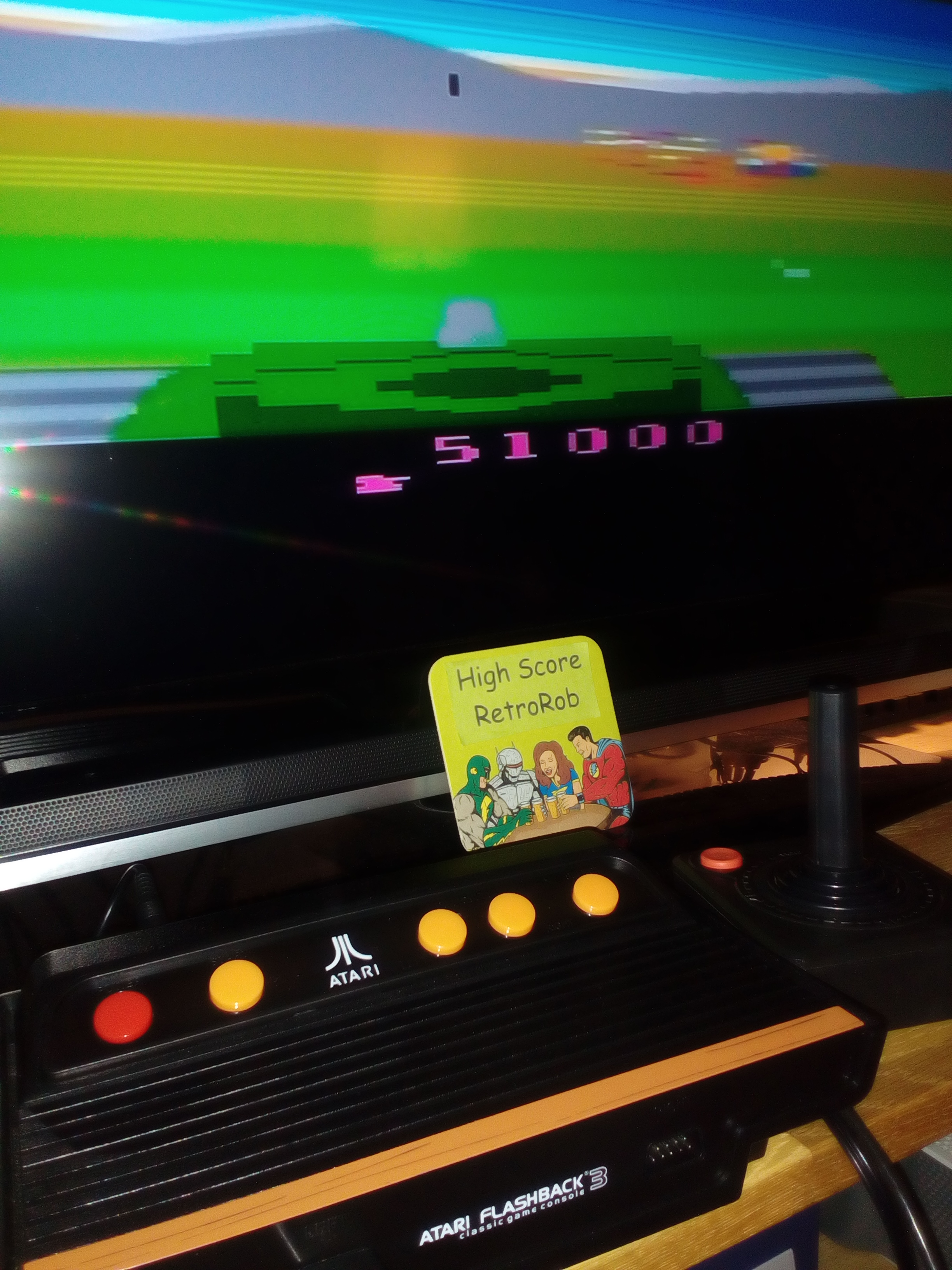 RetroRob: Battlezone (Atari Flashback 3) 51,000 points on 2018-08-29 15:57:00