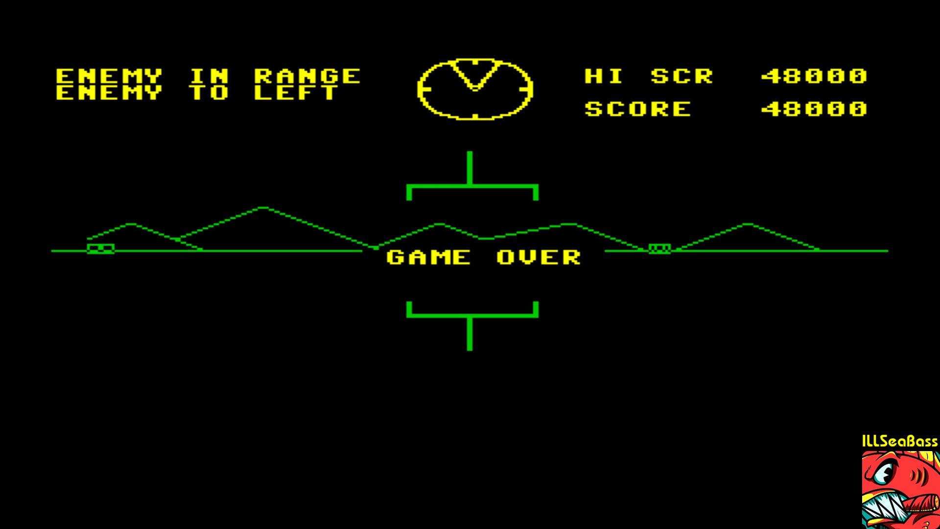 ILLSeaBass: Battlezone (Commodore 64 Emulated) 48,000 points on 2018-01-06 09:17:40