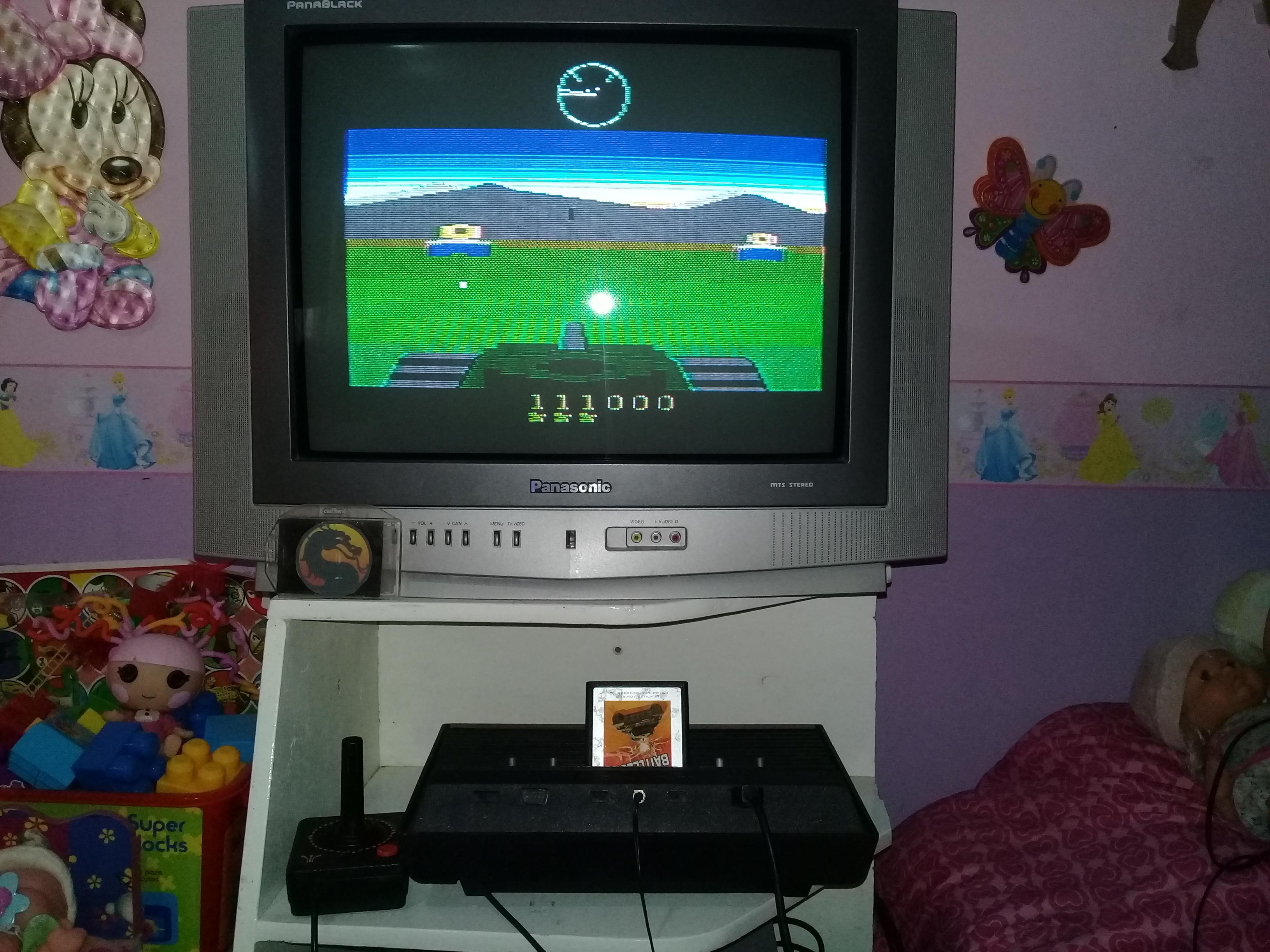 omargeddon: Battlezone [Game 3: Advanced] (Atari 2600) 111,000 points on 2019-09-01 16:32:40