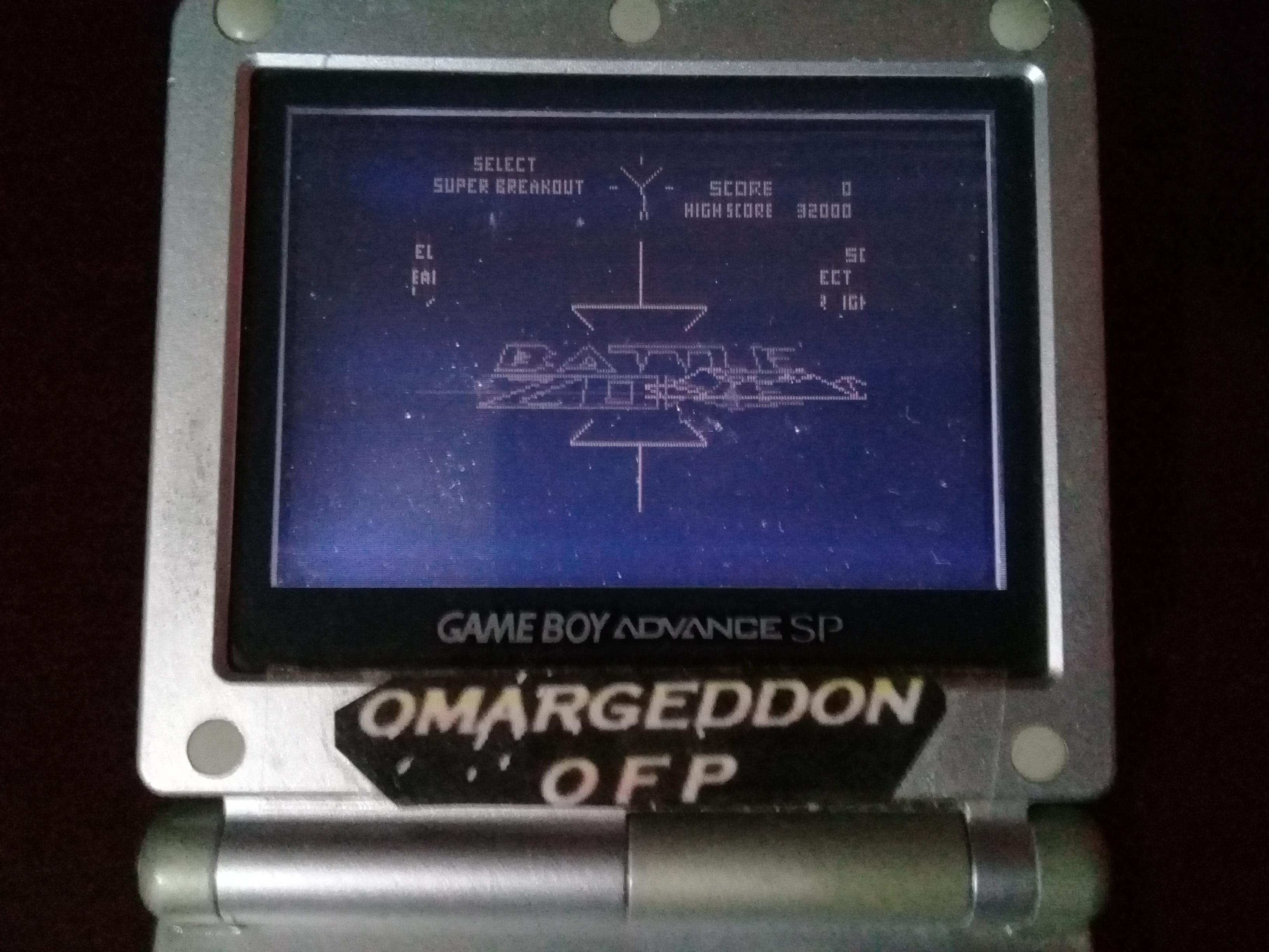 omargeddon: Battlezone (Game Boy) 32,000 points on 2019-08-17 00:41:06