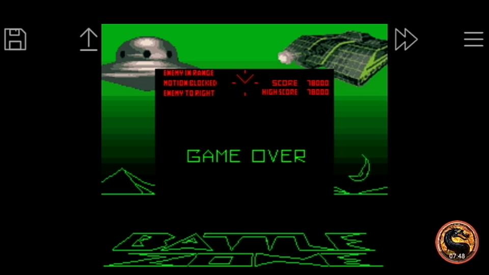 omargeddon: Battlezone (Game Boy Emulated) 78,000 points on 2019-09-07 23:57:48