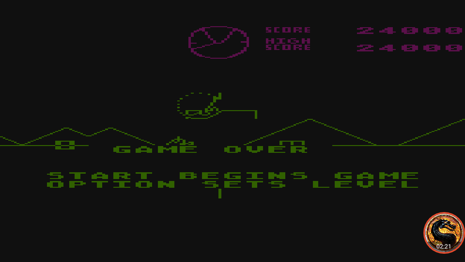 omargeddon: Battlezone [Level 4] (Atari 400/800/XL/XE Emulated) 24,000 points on 2019-11-28 14:02:58