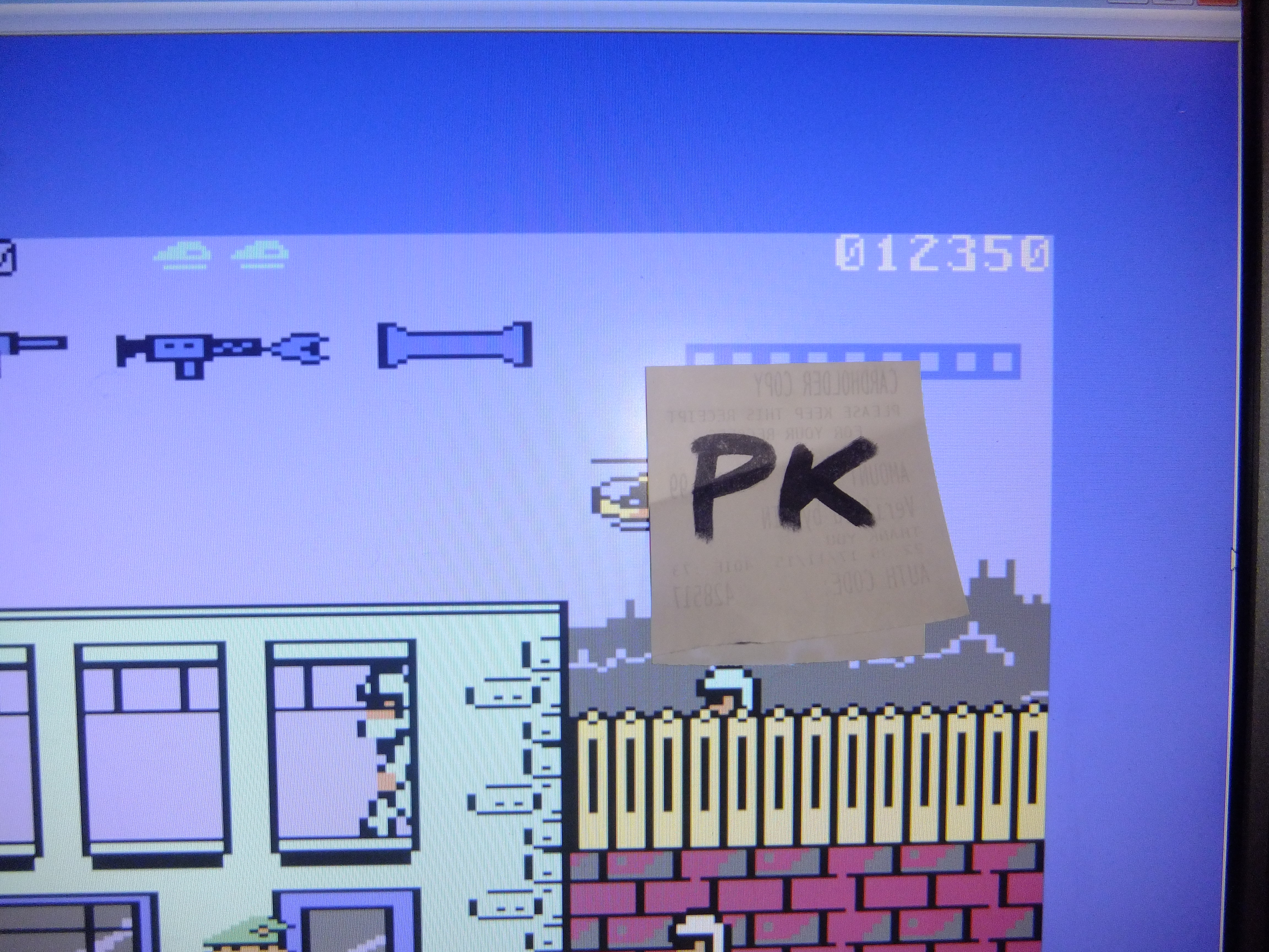 kernzy: Bazooka Bill (Commodore 64 Emulated) 12,350 points on 2015-11-25 05:32:15