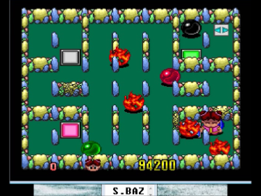 S.BAZ: Be Ball (TurboGrafx-16/PC Engine Emulated) 94,200 points on 2016-08-20 14:13:27