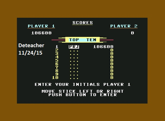 Deteacher: Beach Head (Commodore 64 Emulated) 106,600 points on 2015-11-24 10:26:18