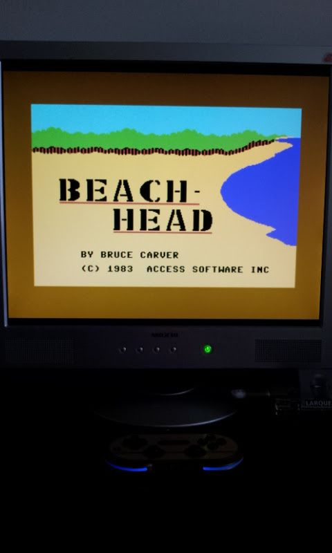 Larquey: Beach Head (Commodore 64 Emulated) 29,600 points on 2017-03-19 09:39:53