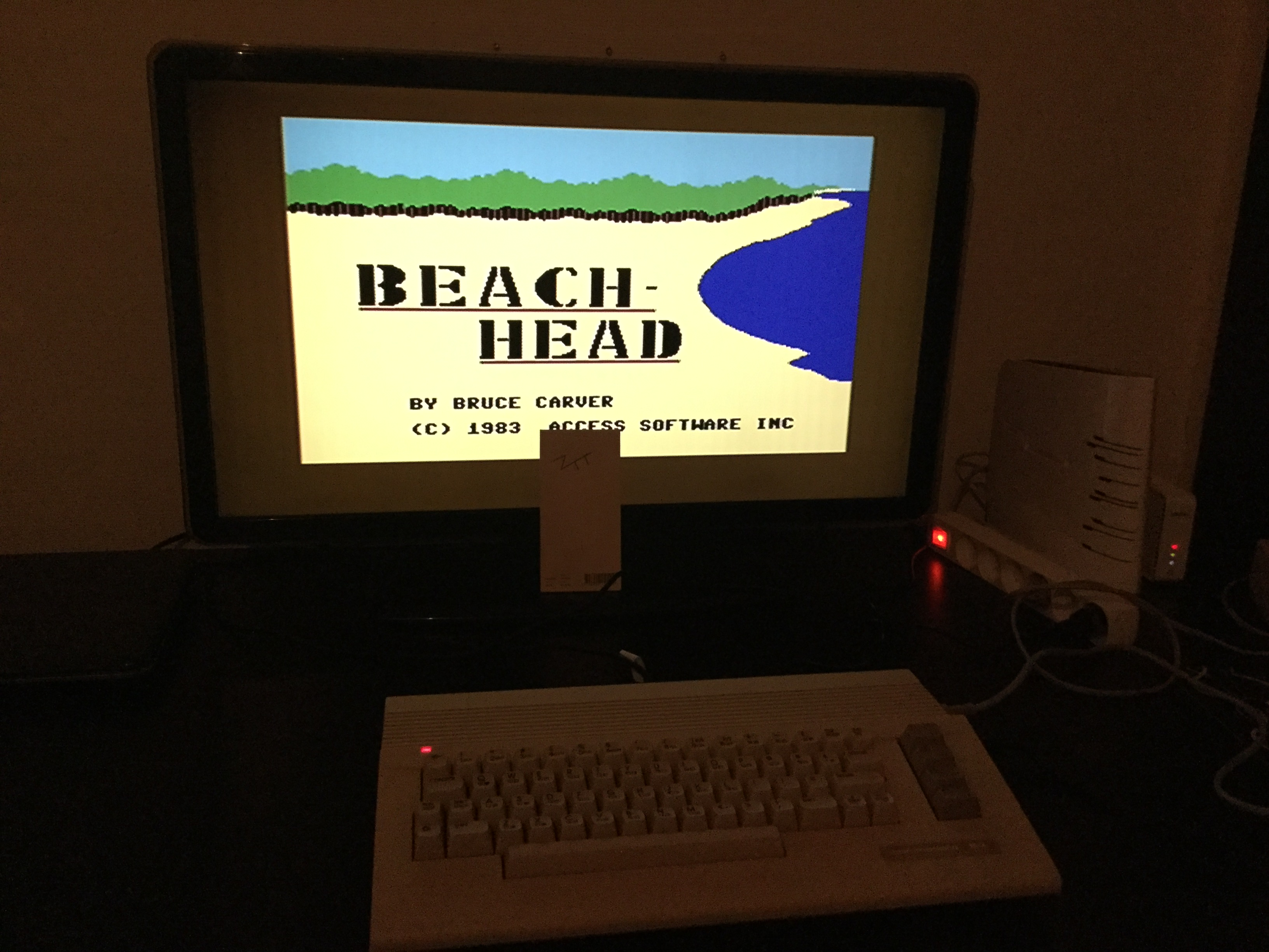 Frankie: Beach Head (Commodore 64) 106,200 points on 2019-03-12 15:05:09