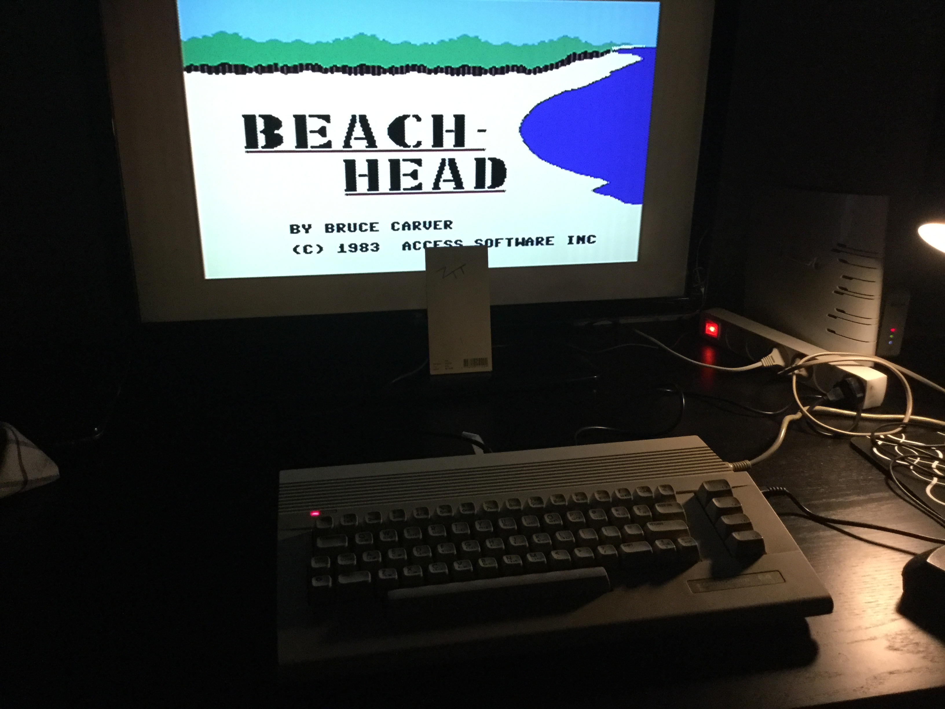 Frankie: Beach Head (Commodore 64) 112,600 points on 2019-04-04 00:21:56