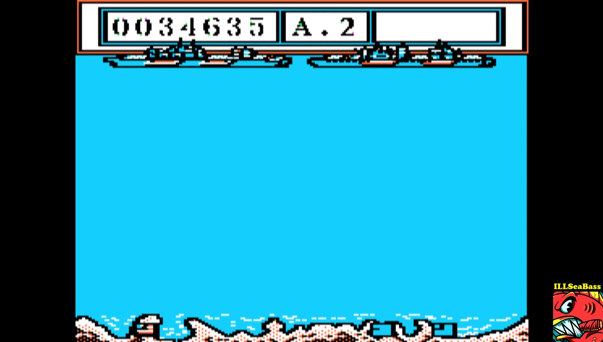 ILLSeaBass: Beach Landing (Apple II Emulated) 34,635 points on 2017-03-05 00:17:28