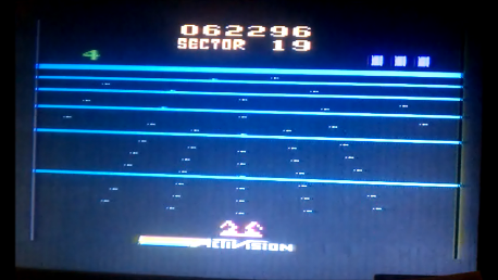 S.BAZ: Beamrider (Atari 2600 Novice/B) 62,296 points on 2018-02-15 10:11:05