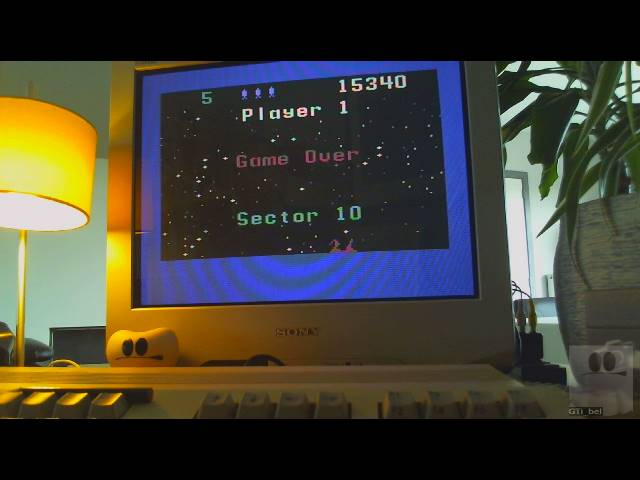 GTibel: Beamrider: Difficulty 1 (Commodore 64) 15,340 points on 2019-04-04 09:14:52