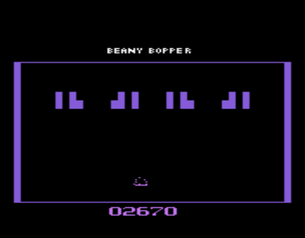 TRBMetroidTeam: Beany Bopper (Atari 2600 Emulated) 102,670 points on 2015-06-17 22:29:05