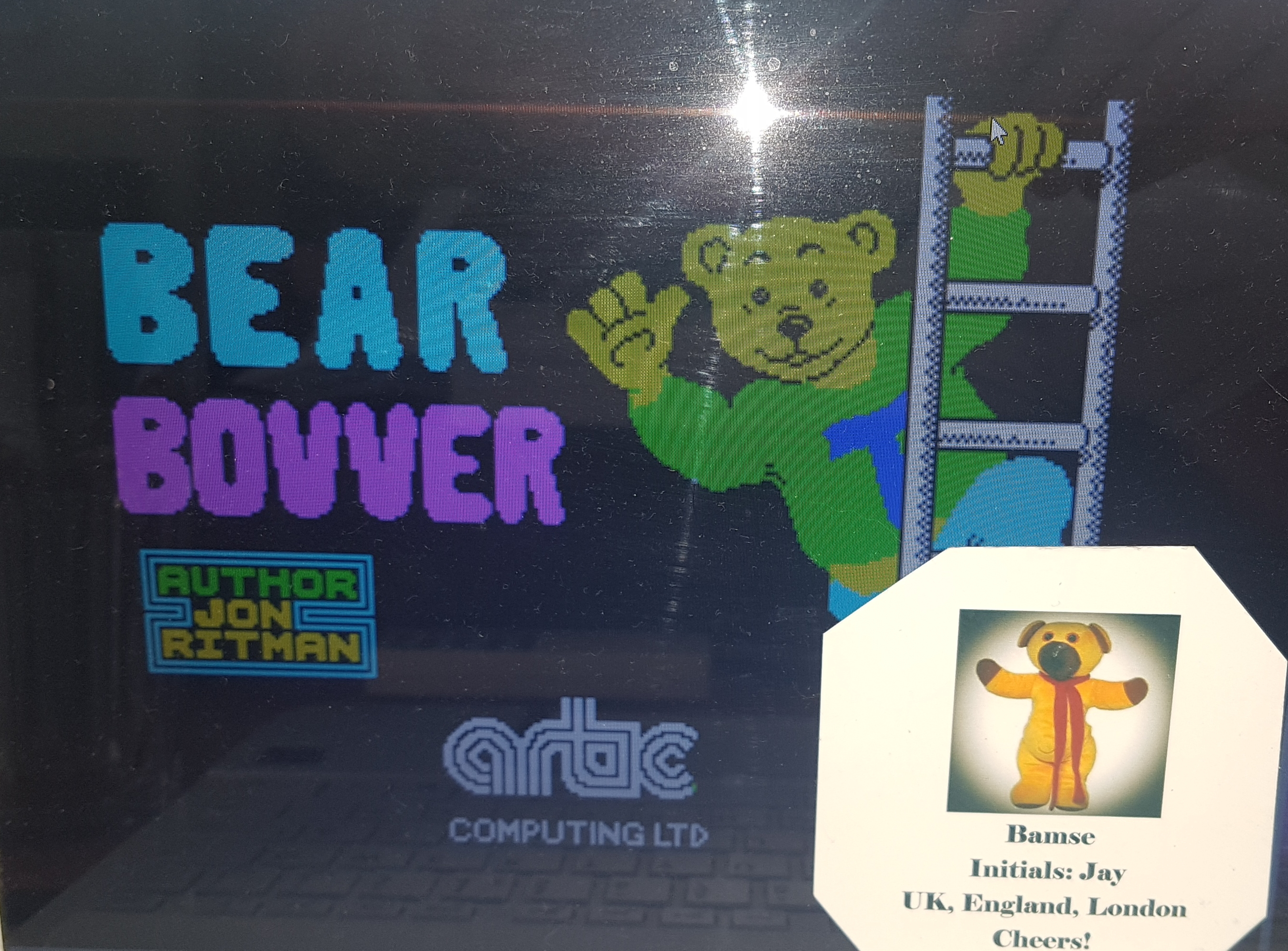 Bamse: Bear Bovver [Baby Bear Mode] (ZX Spectrum Emulated) 5,950 points on 2019-06-28 11:35:20