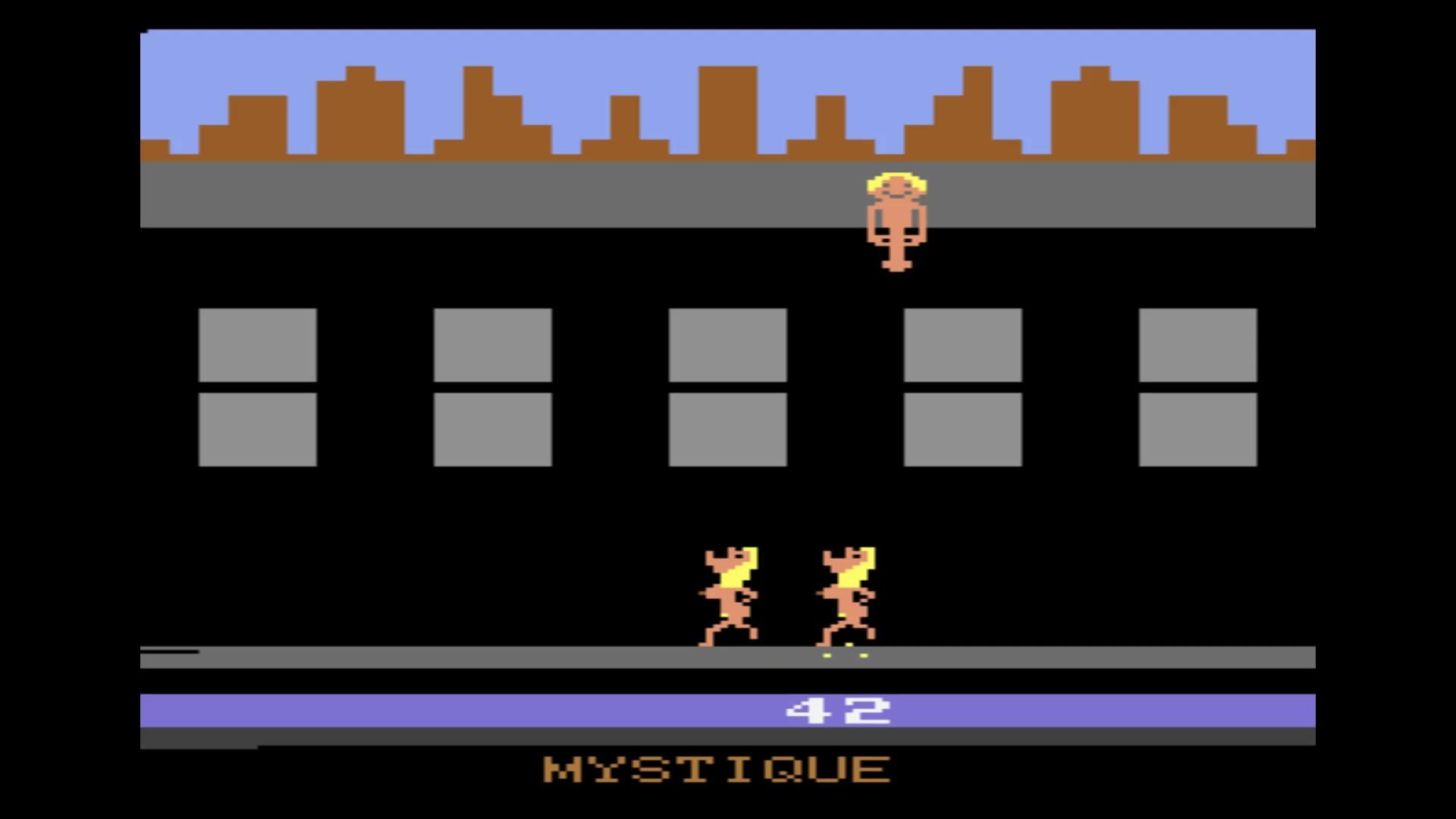 AkinNahtanoj: Beat Em and Eat Em (Atari 2600 Emulated Expert/A Mode) 42 points on 2020-10-13 07:43:08