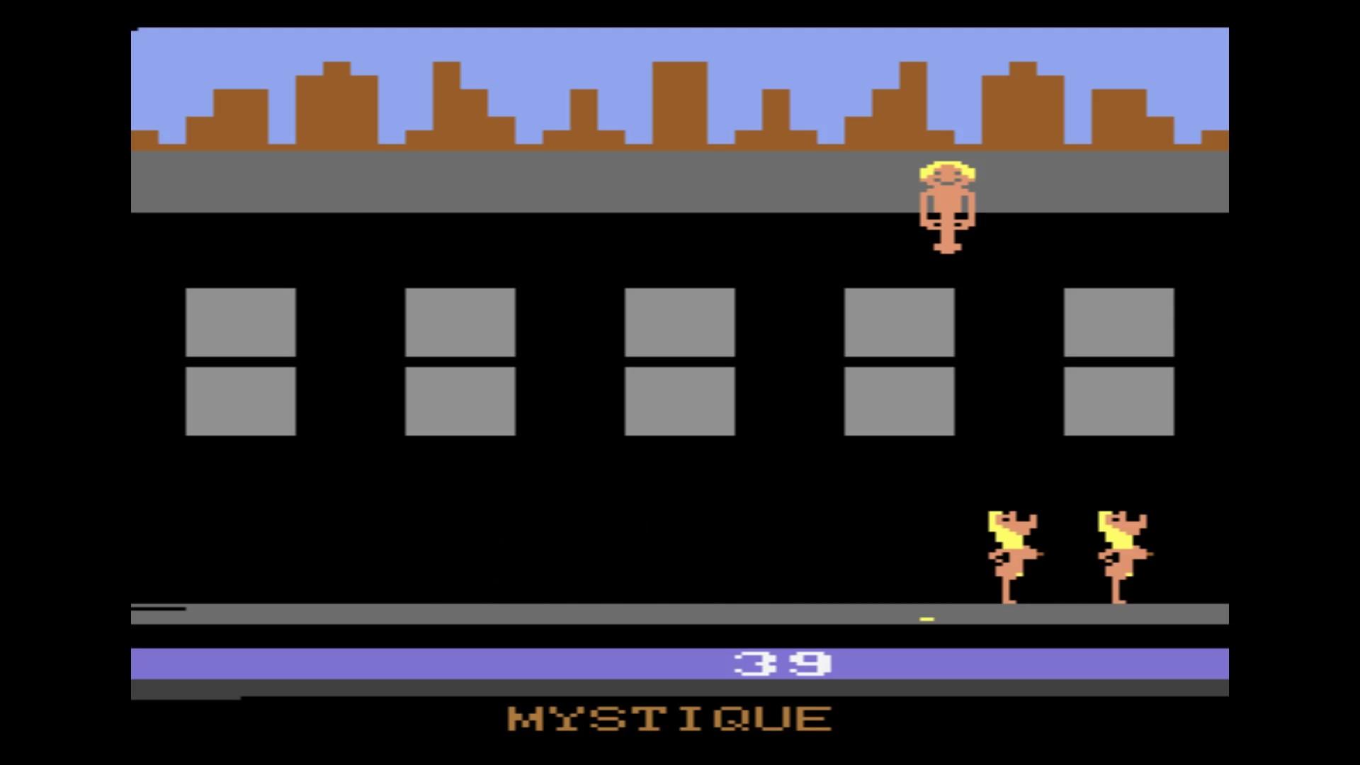 AkinNahtanoj: Beat Em and Eat Em (Atari 2600 Emulated Novice/B Mode) 39 points on 2020-10-13 07:35:38