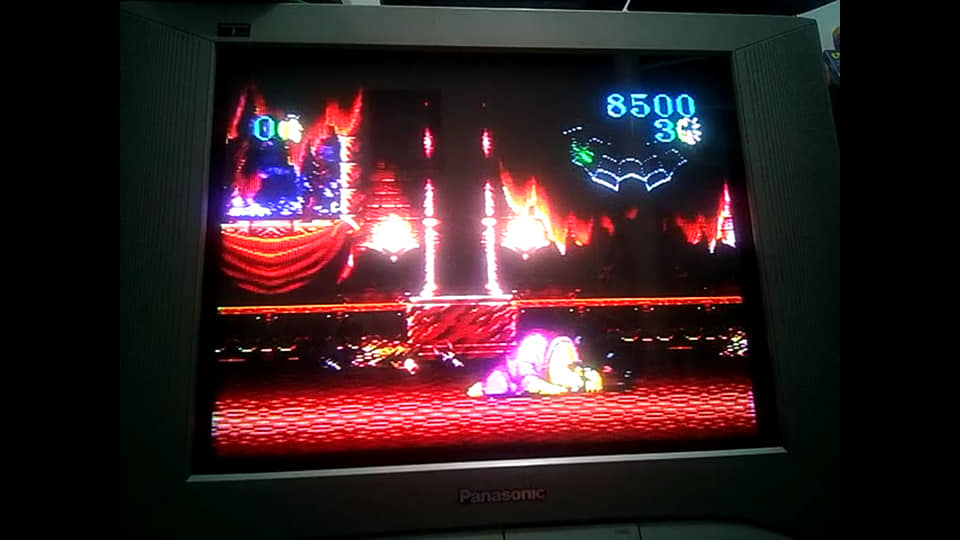 BabofetH: Beauty And The Beast: Roar Of The Beast (Sega Genesis / MegaDrive) 8,500 points on 2020-08-08 03:32:36