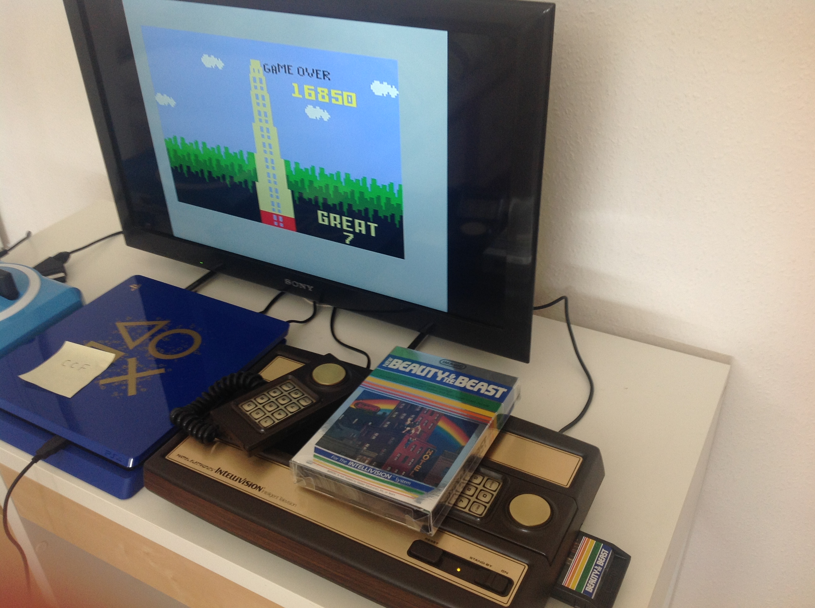 CoCoForest: Beauty and the Beast (Intellivision) 16,850 points on 2018-07-25 07:47:03