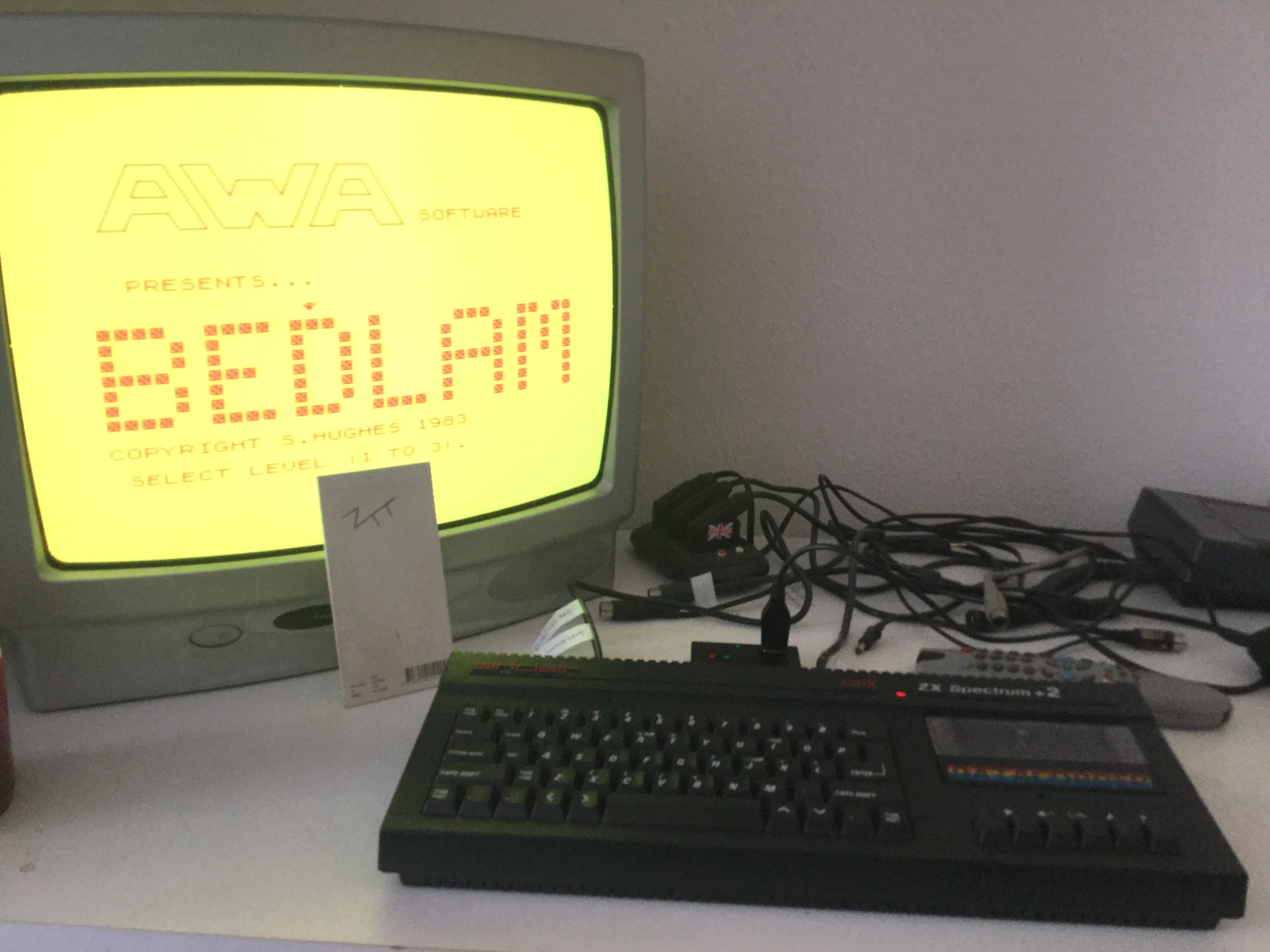 Frankie: Bedlam [AWA Software / MC Lothlorien] [Level 1] (ZX Spectrum) 670 points on 2018-03-01 06:19:47