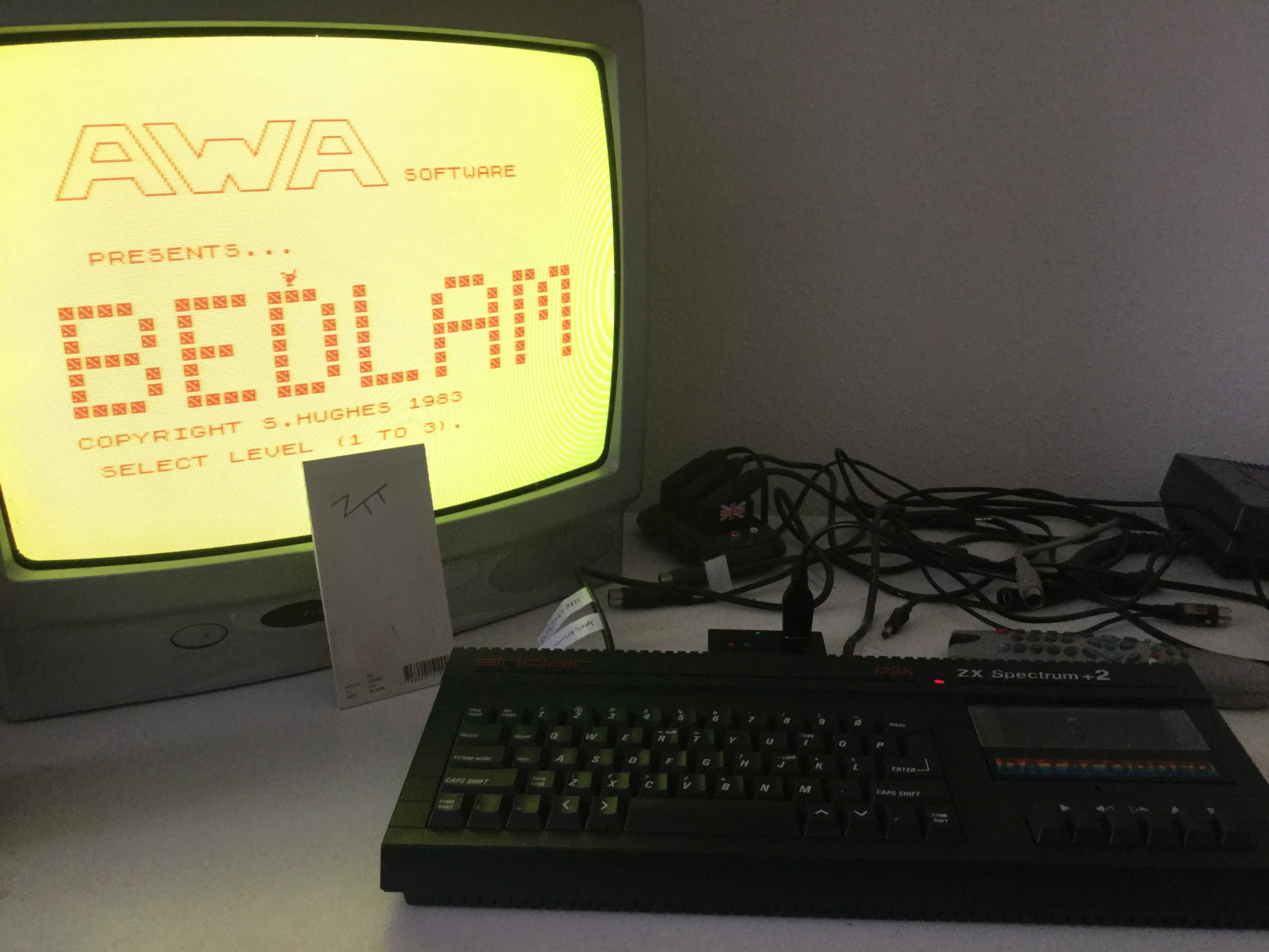 Frankie: Bedlam [AWA Software / MC Lothlorien] [Level 2] (ZX Spectrum) 410 points on 2018-03-01 06:27:24