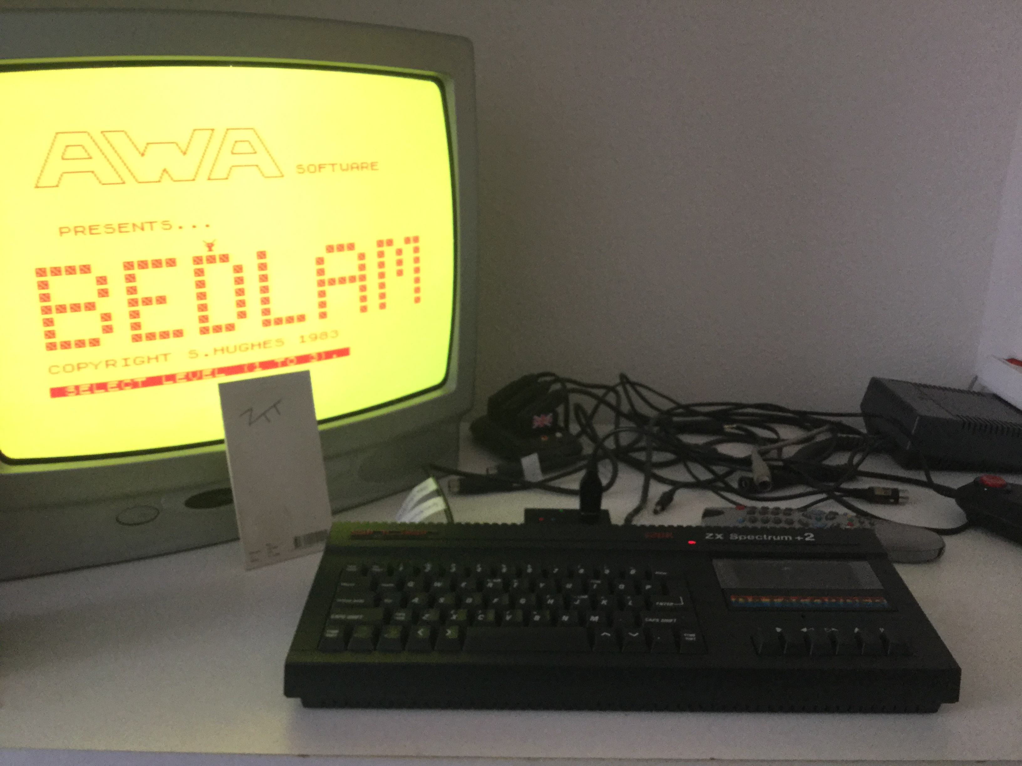 Frankie: Bedlam [AWA Software / MC Lothlorien] [Level 3] (ZX Spectrum) 300 points on 2018-03-01 06:35:59