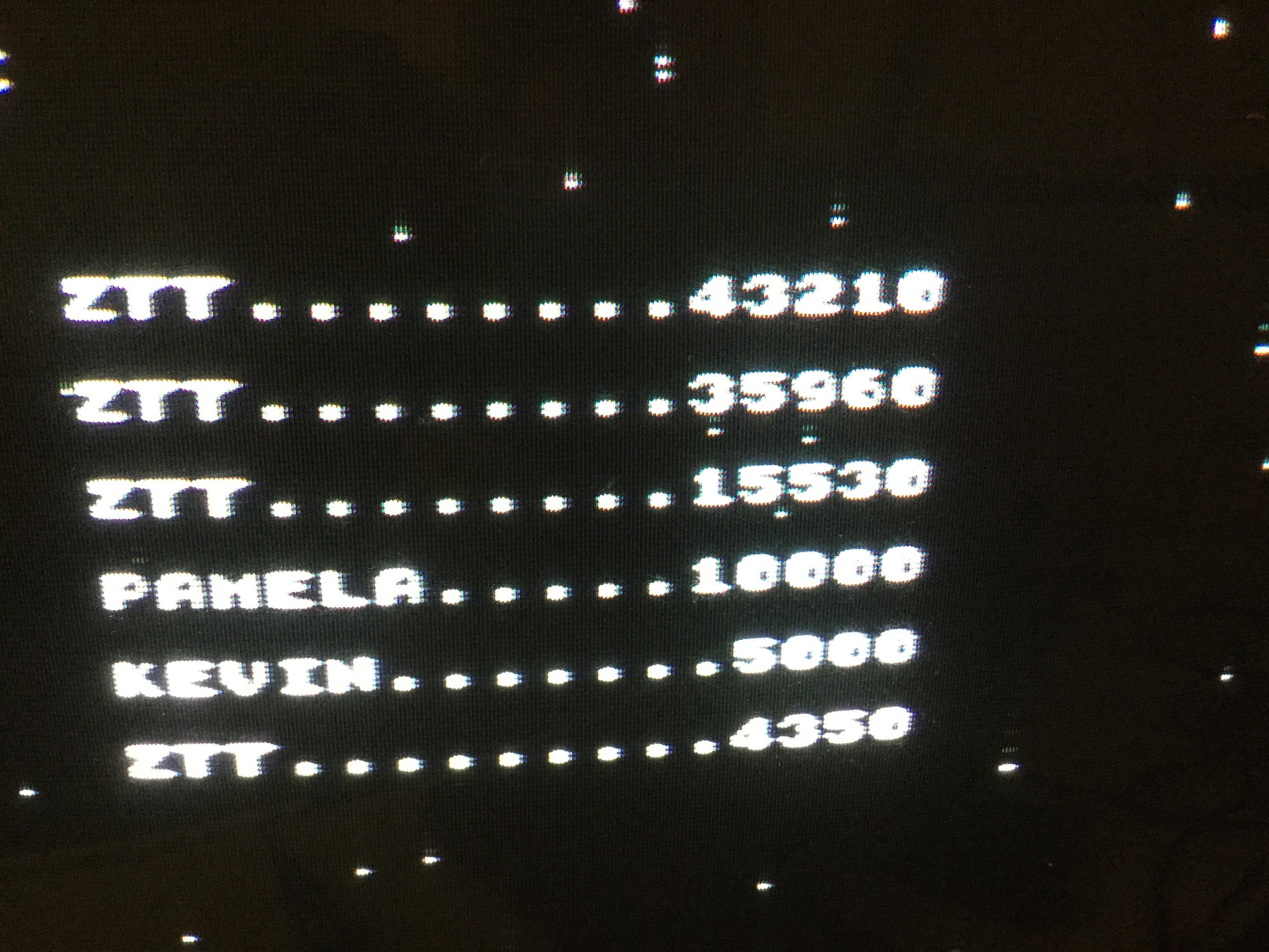 Frankie: Bedlam [Go!] (ZX Spectrum) 43,210 points on 2017-12-23 08:26:47