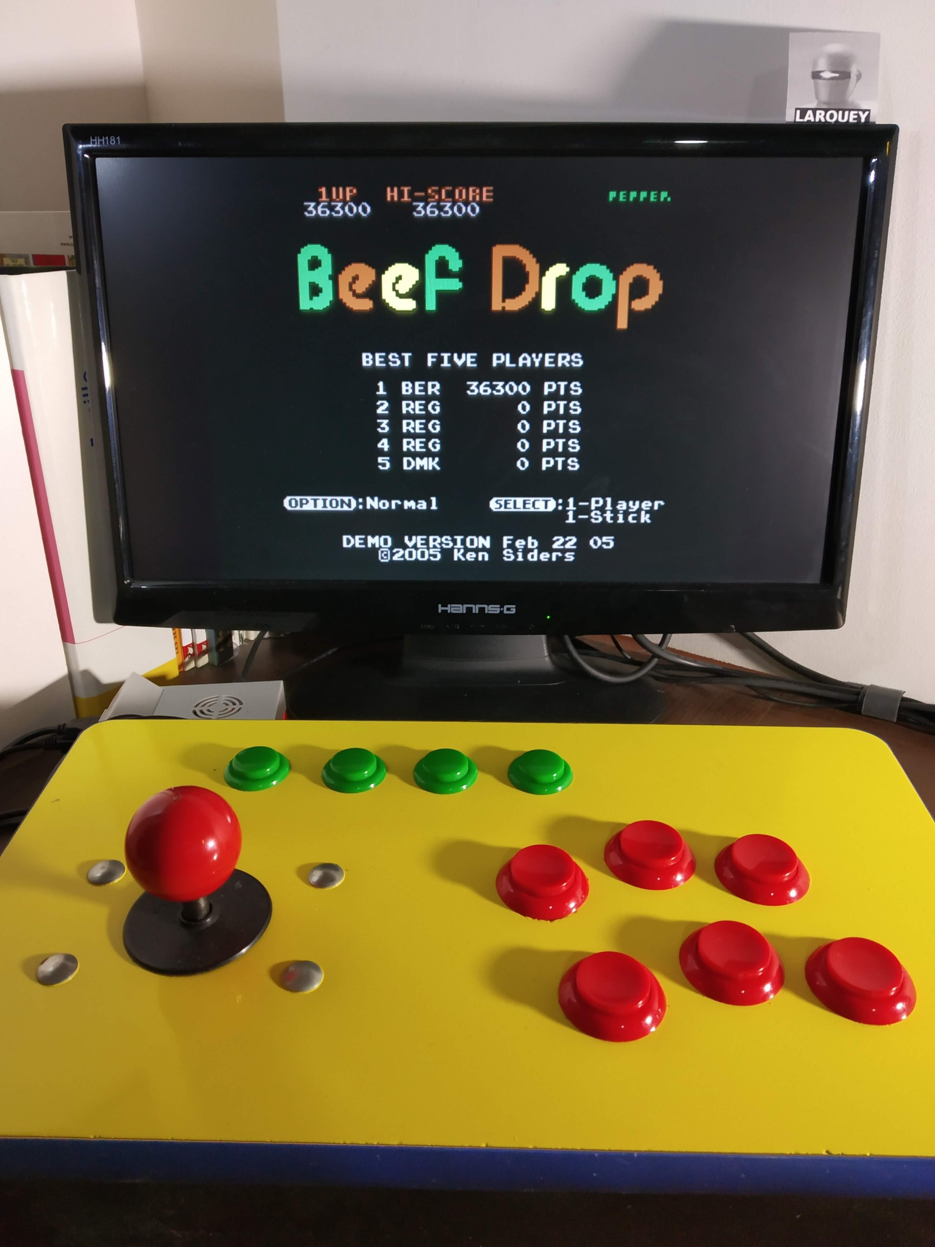 Beef Drop: Normal [Demo Version] 36,300 points
