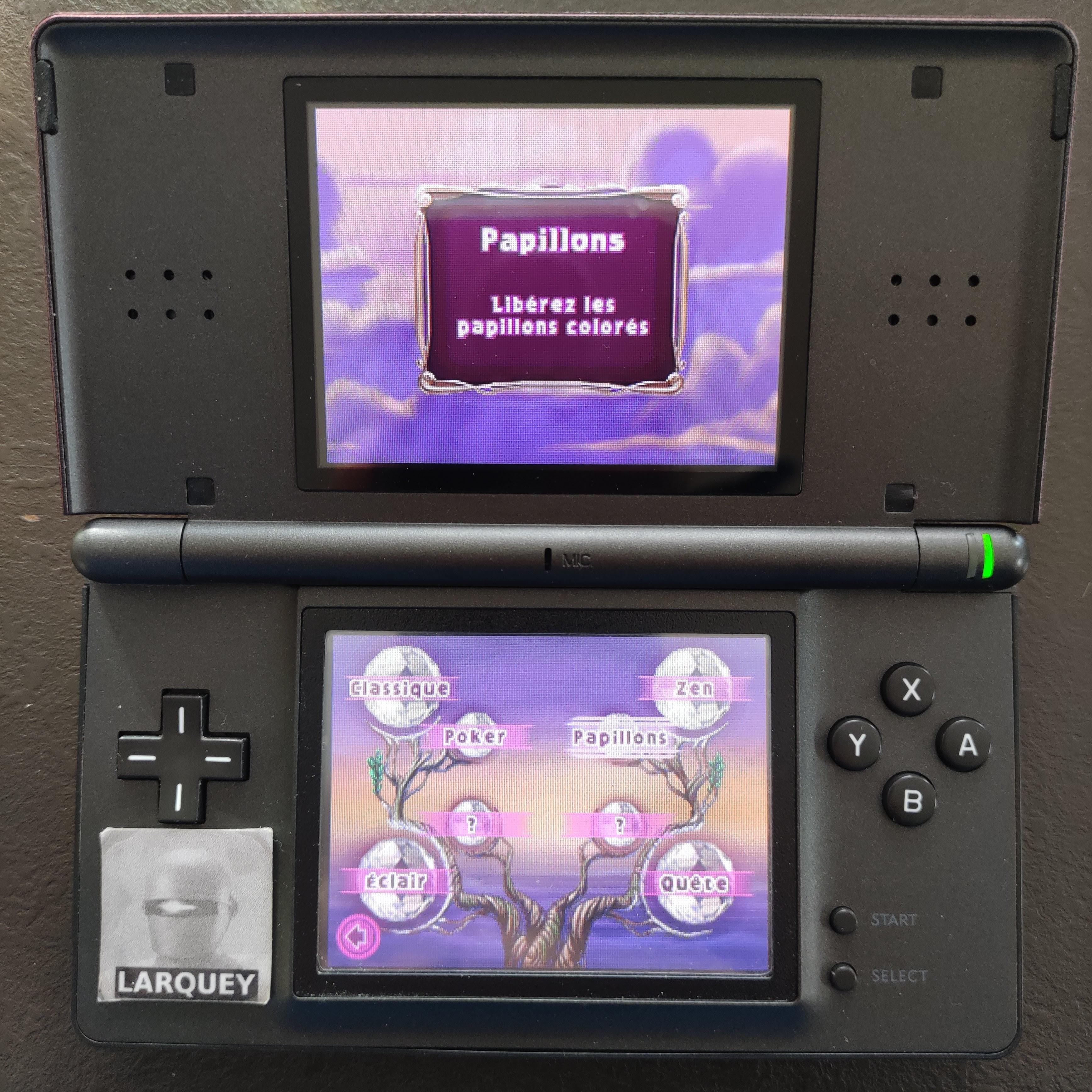 Larquey: Bejeweled 3: Butterflies [Best Butterfly Combo] (Nintendo DS) 10 points on 2020-09-27 03:59:37