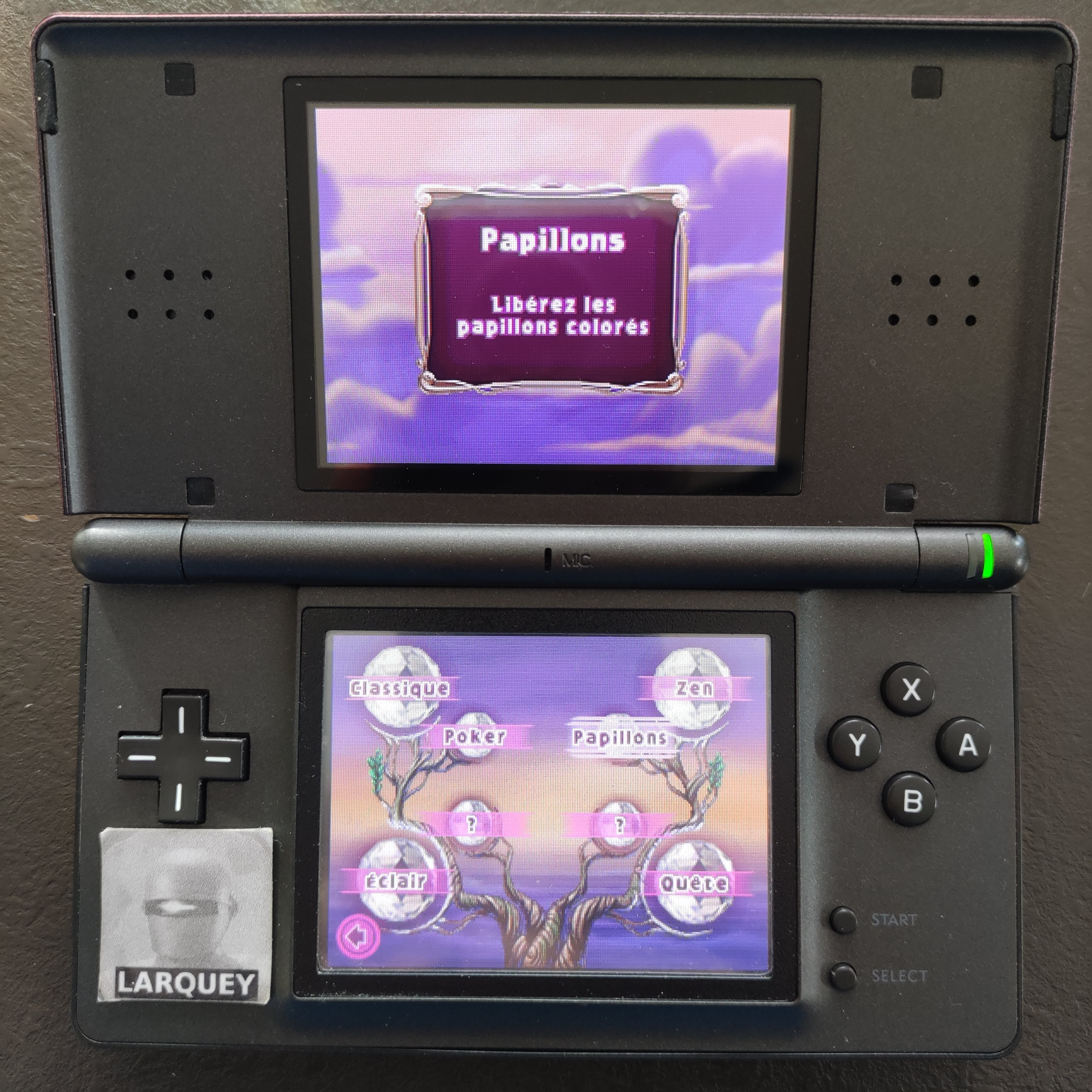 Larquey: Bejeweled 3: Butterflies [Number of Hypercubes] (Nintendo DS) 0 points on 2020-09-27 04:09:54