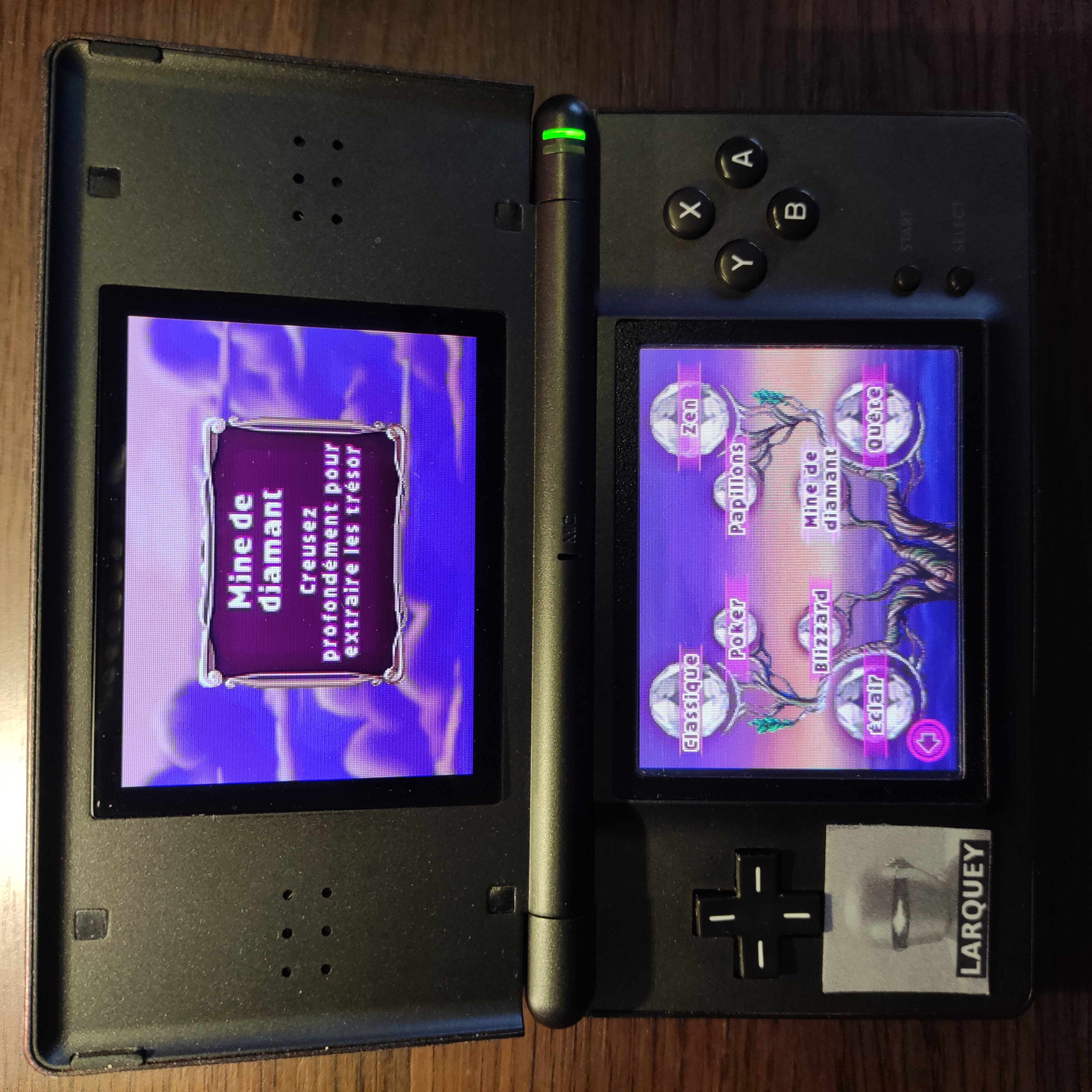 Larquey: Bejeweled 3: Diamond Mine [Diamonds Collected] (Nintendo DS) 0 points on 2020-09-27 12:58:05