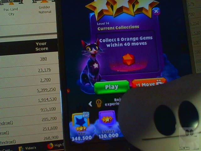 GTibel: Bejeweled Stars: Level 14 - Current Collections (Android) 348,500 points on 2018-01-26 02:08:20