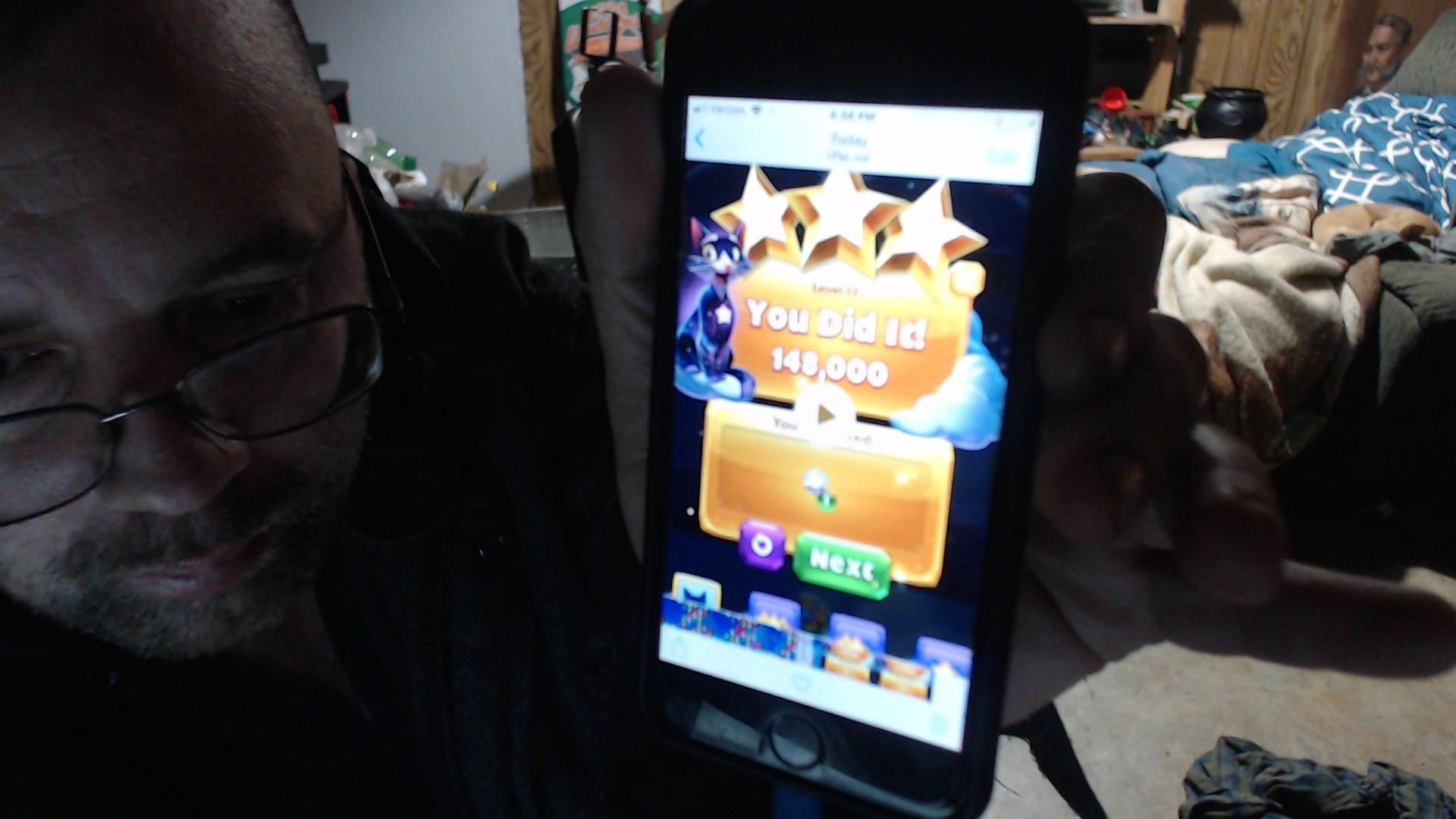 speedy4759123: Bejeweled Stars: Level 17 - No Net? No Problem. (iOS) 148,000 points on 2019-03-11 00:14:42