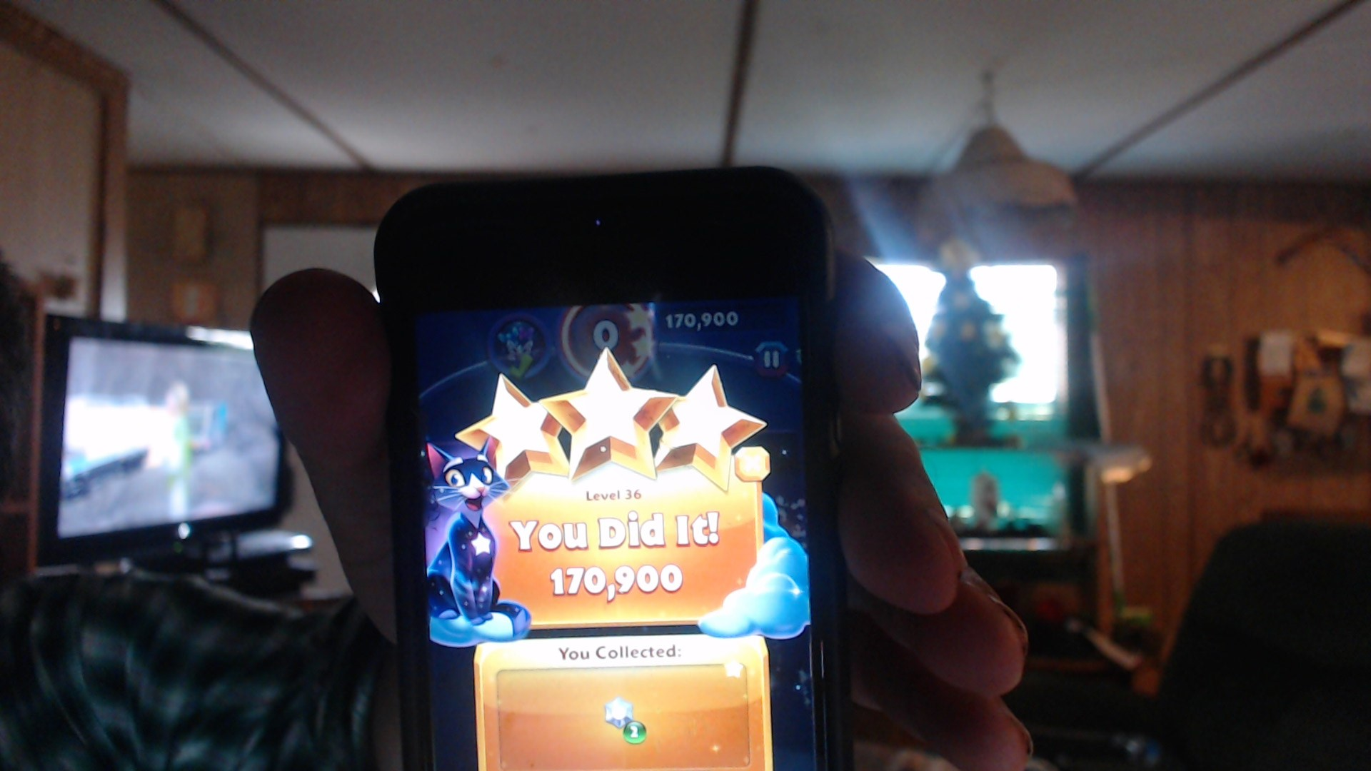 Bejeweled Stars: Level 36: Gotta catch em