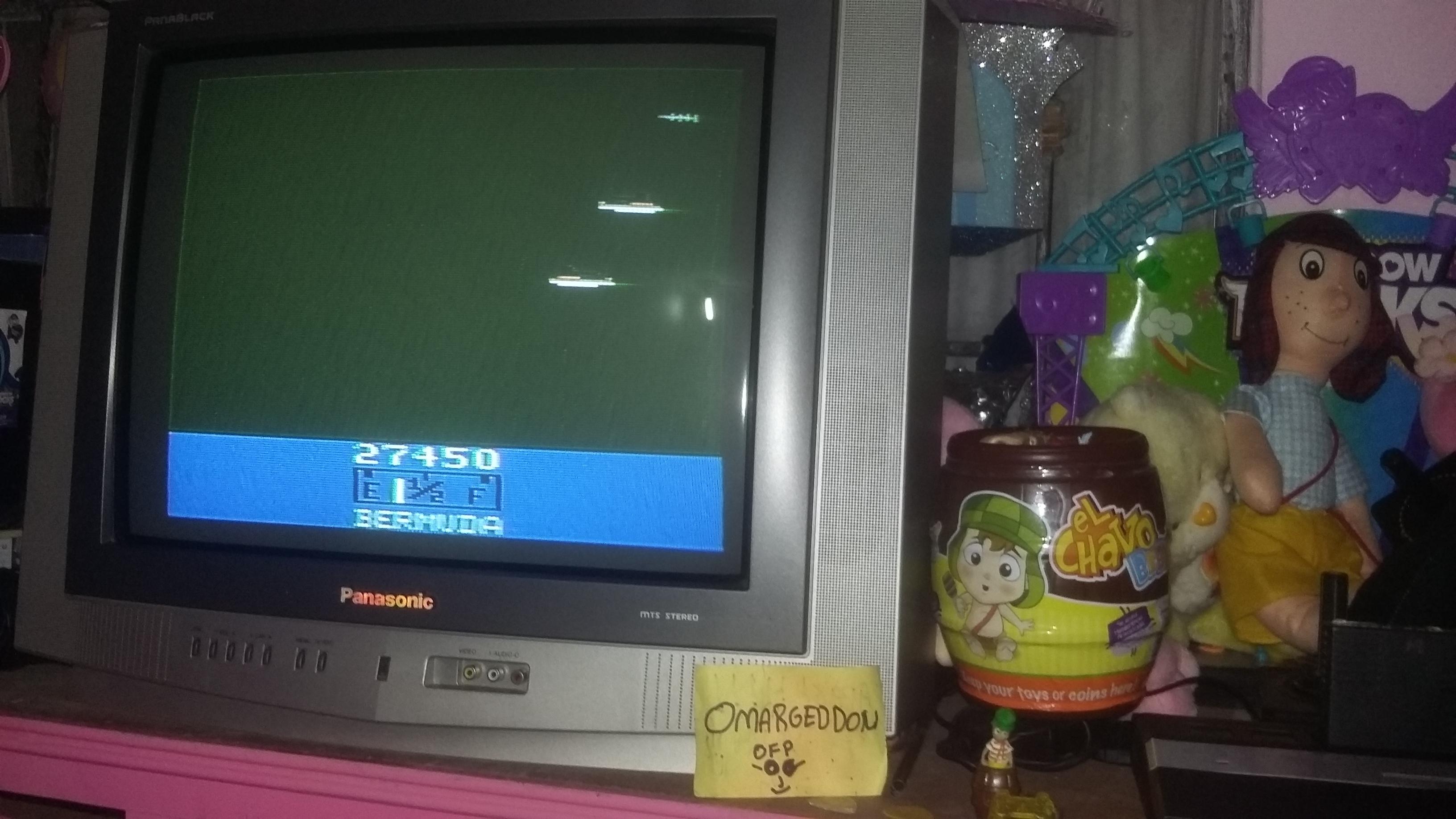 omargeddon: Bermuda (Atari 2600 Expert/A) 27,450 points on 2016-12-17 20:08:50
