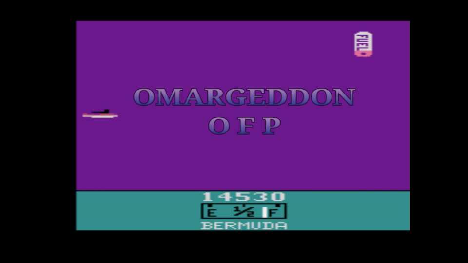 omargeddon: Bermuda (Atari 2600 Emulated Novice/B Mode) 14,530 points on 2016-12-27 02:26:56