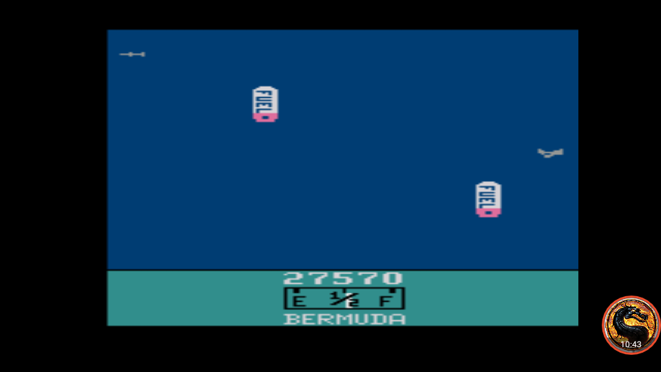 omargeddon: Bermuda (Atari 2600 Emulated Novice/B Mode) 27,570 points on 2019-07-01 13:29:36