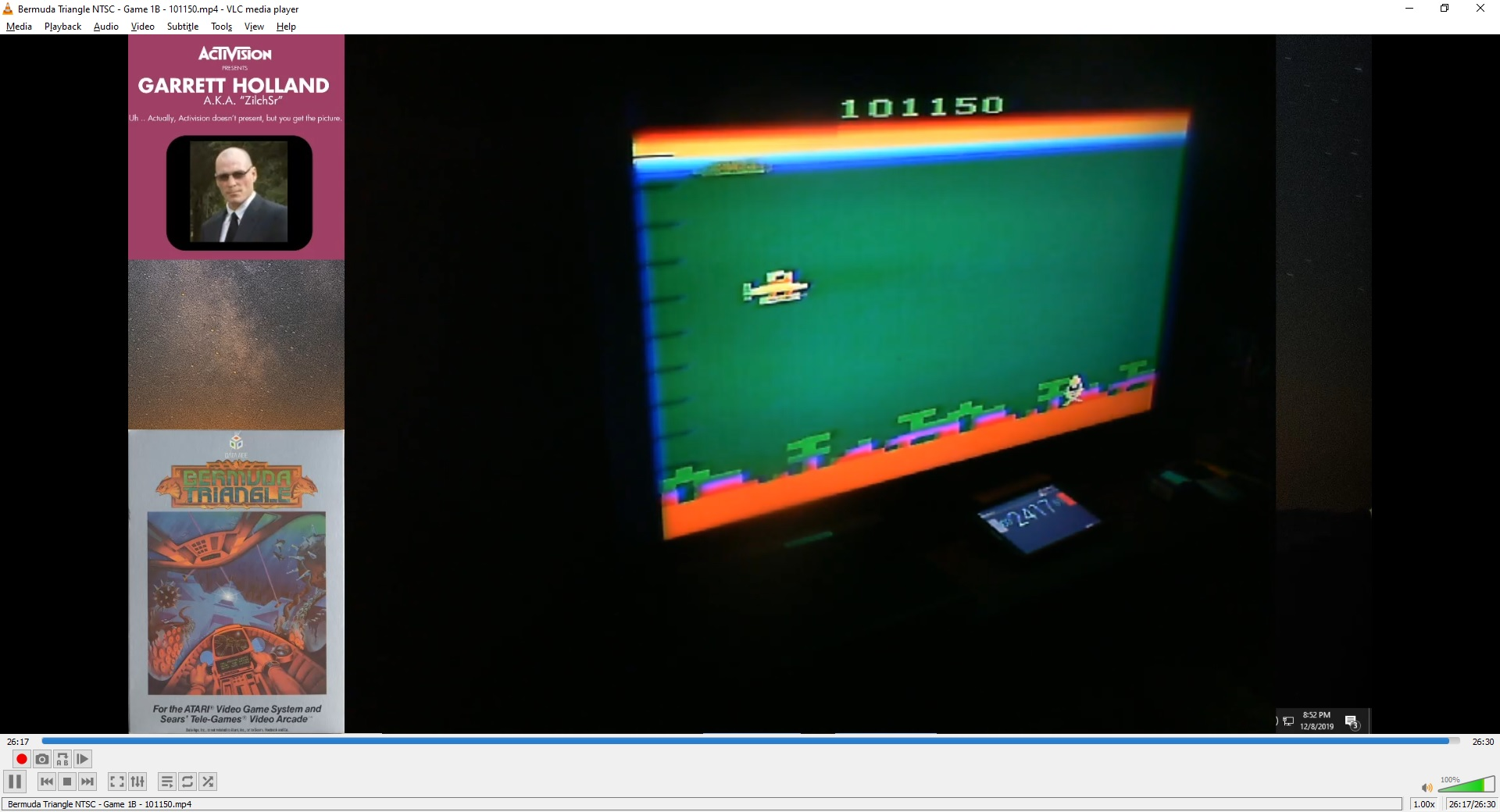 ZilchSr: Bermuda Triangle (Atari 2600 Novice/B) 101,150 points on 2020-05-07 02:17:34