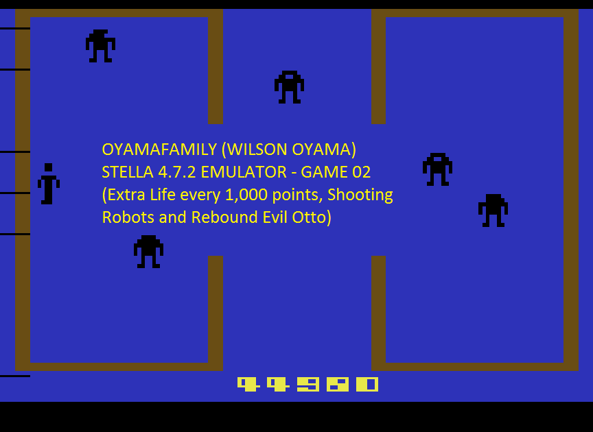 oyamafamily: Berzerk: Game 2 (Atari 2600 Emulated) 44,980 points on 2016-07-05 20:42:07