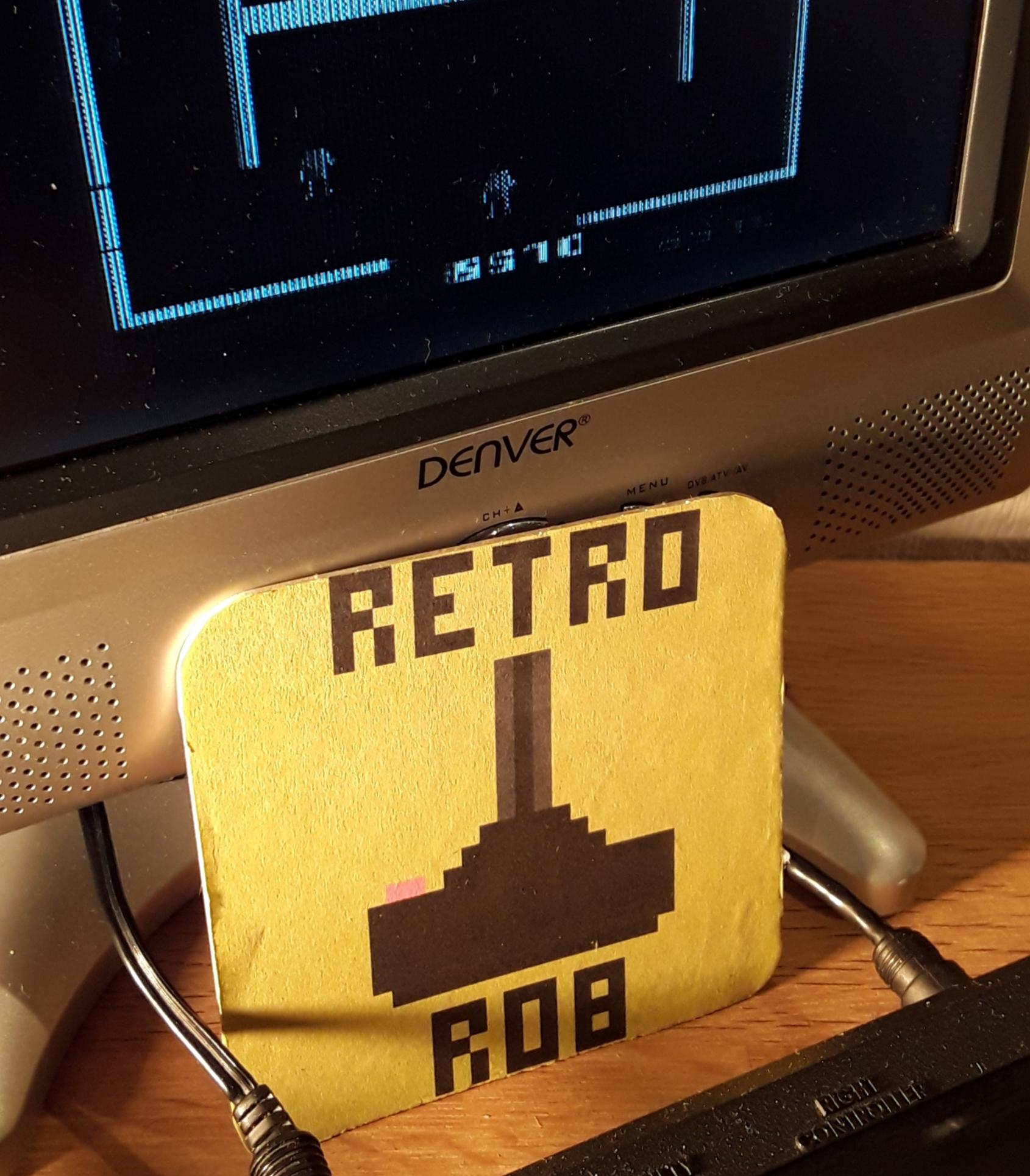 RetroRob: Berzerk: Game 4 (Atari 2600) 8,570 points on 2019-01-12 00:49:37