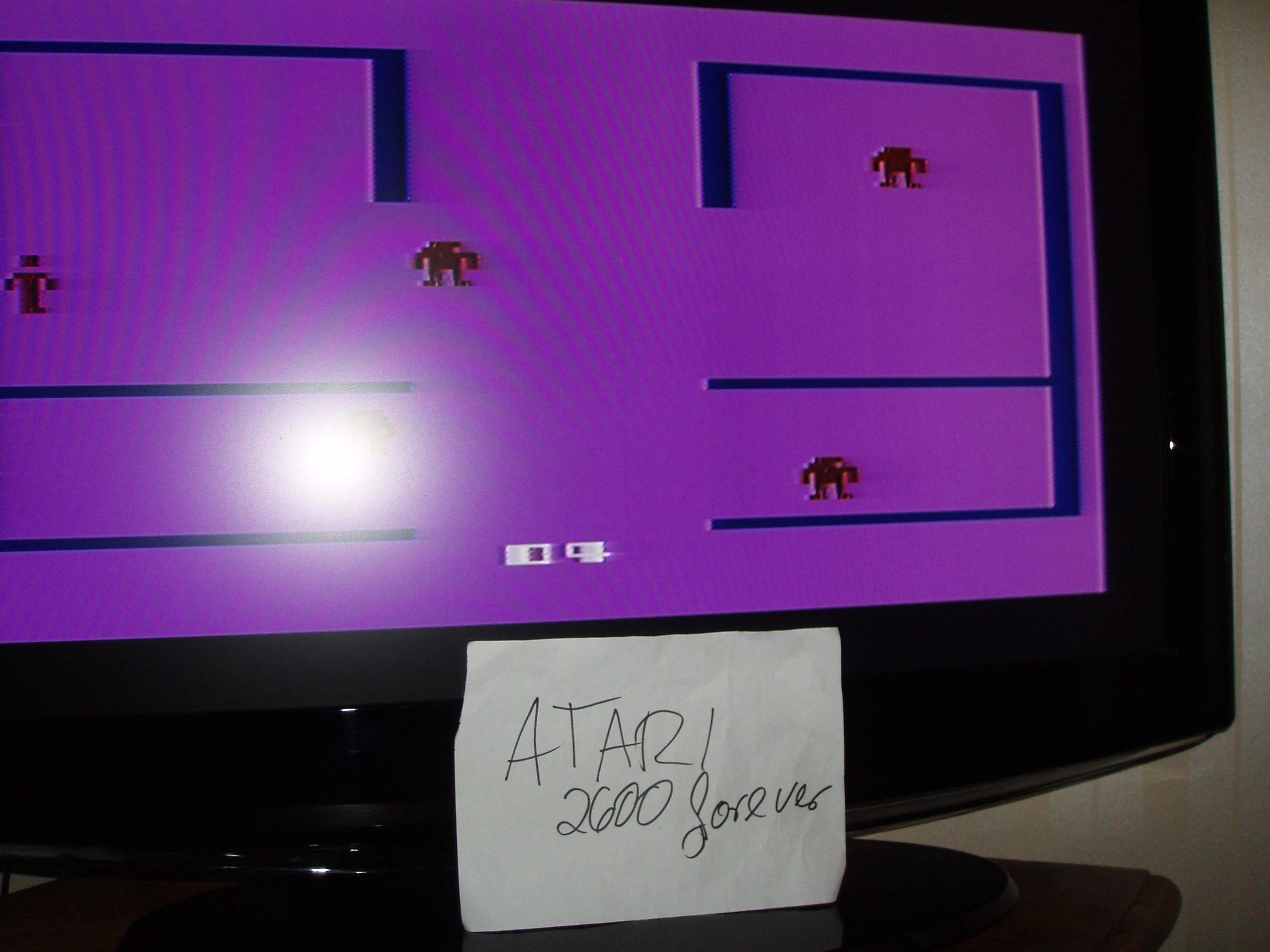 atari2600forever: Berzerk: Game 4 (Atari 2600) 9,830 points on 2019-01-17 05:12:45