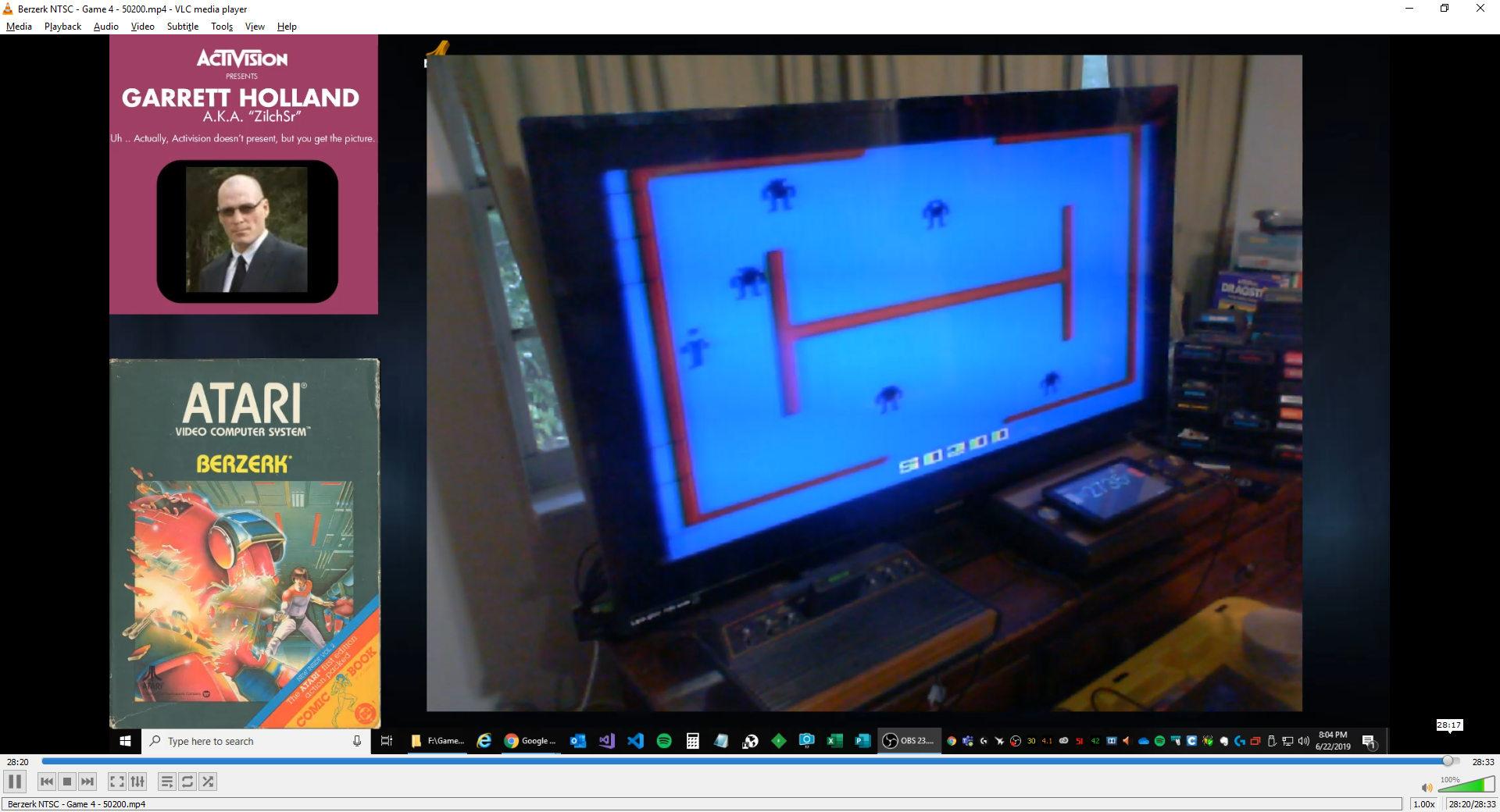 ZilchSr: Berzerk: Game 4 (Atari 2600) 50,200 points on 2019-06-22 21:02:26
