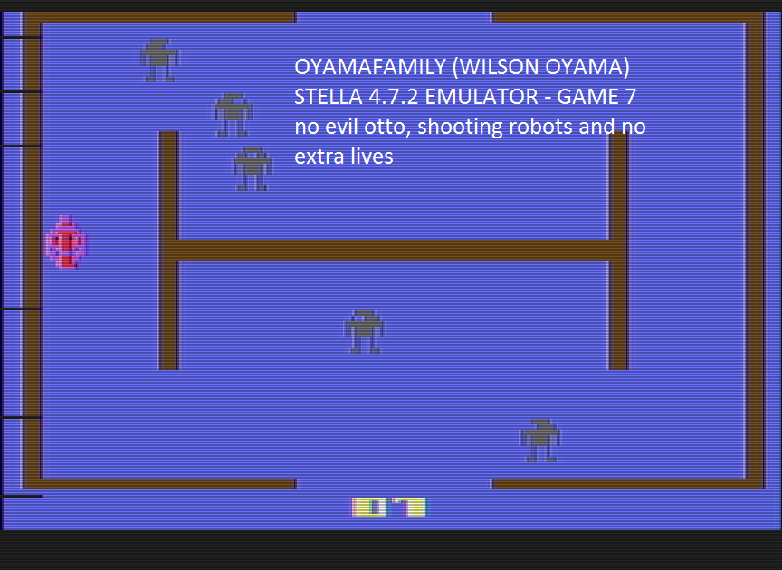 oyamafamily: Berzerk: Game 7 (Atari 2600 Emulated) 10,000 points on 2016-07-11 17:00:42