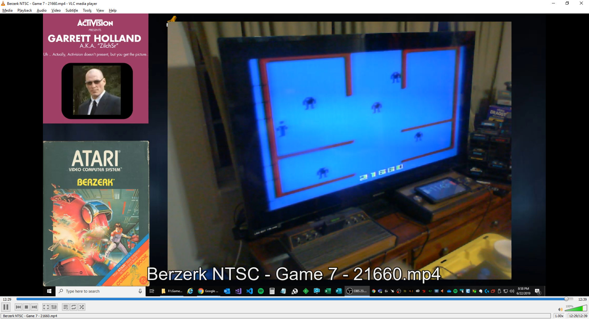 ZilchSr: Berzerk: Game 7 (Atari 2600) 21,660 points on 2019-06-22 21:05:21