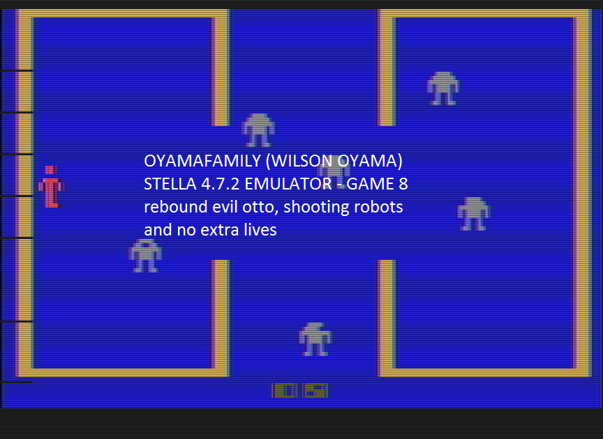 oyamafamily: Berzerk: Game 8 (Atari 2600 Emulated) 12,570 points on 2016-07-11 17:00:27